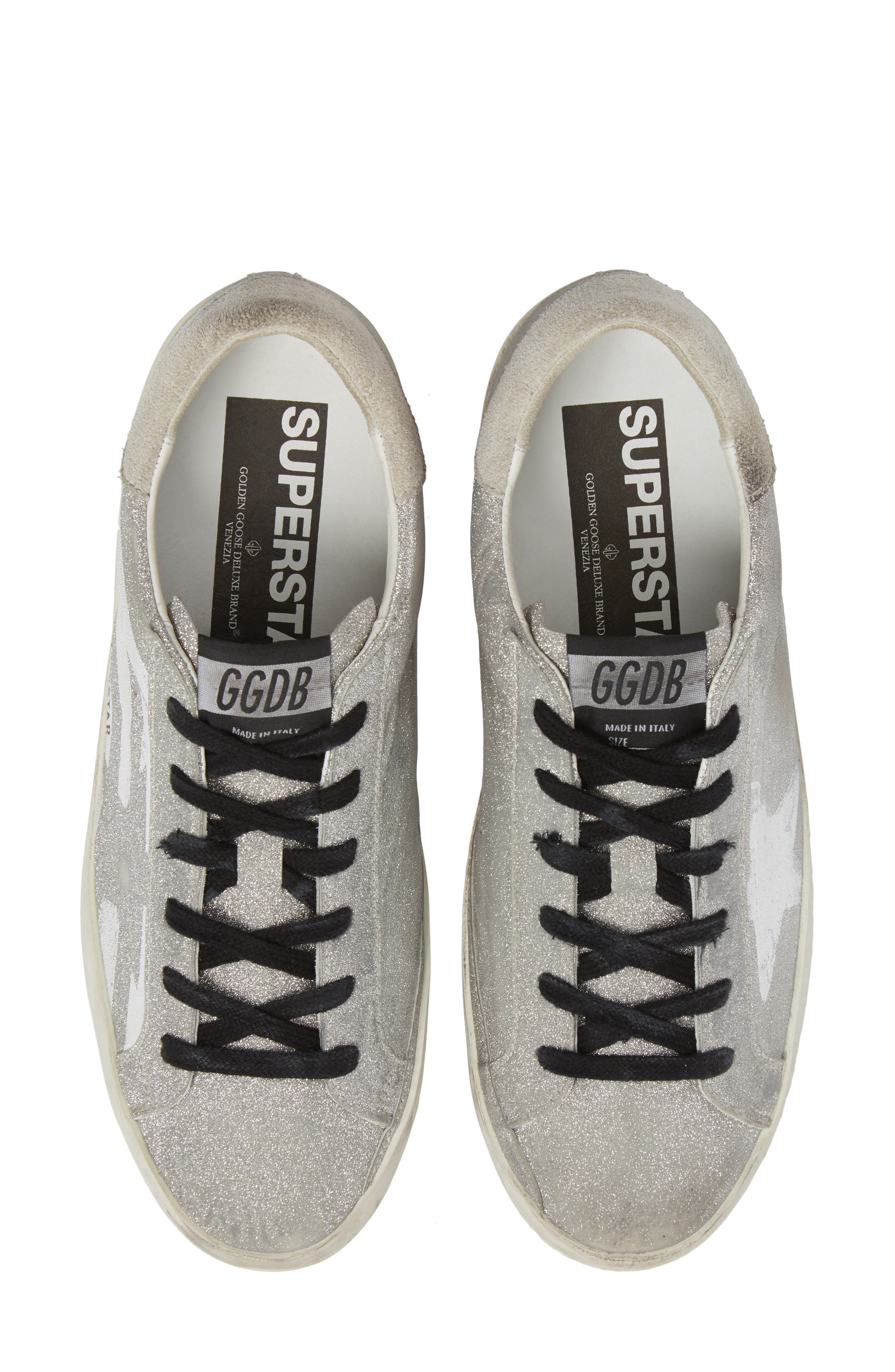 Superstar Low Top Sneaker,                             Main thumbnail 1, color,                             100