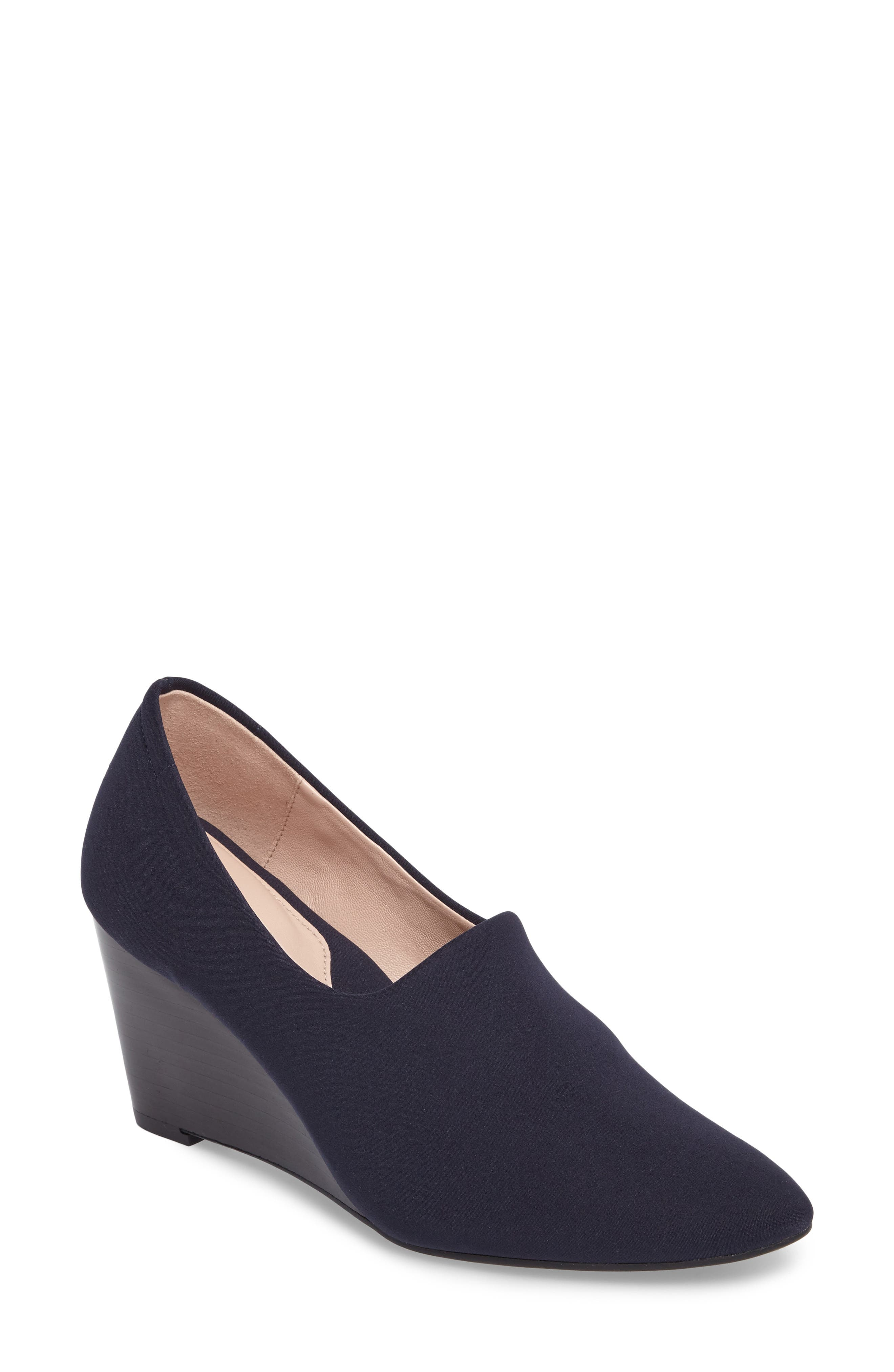 Yvonne Pointy Toe Wedge,                             Main thumbnail 2, color,