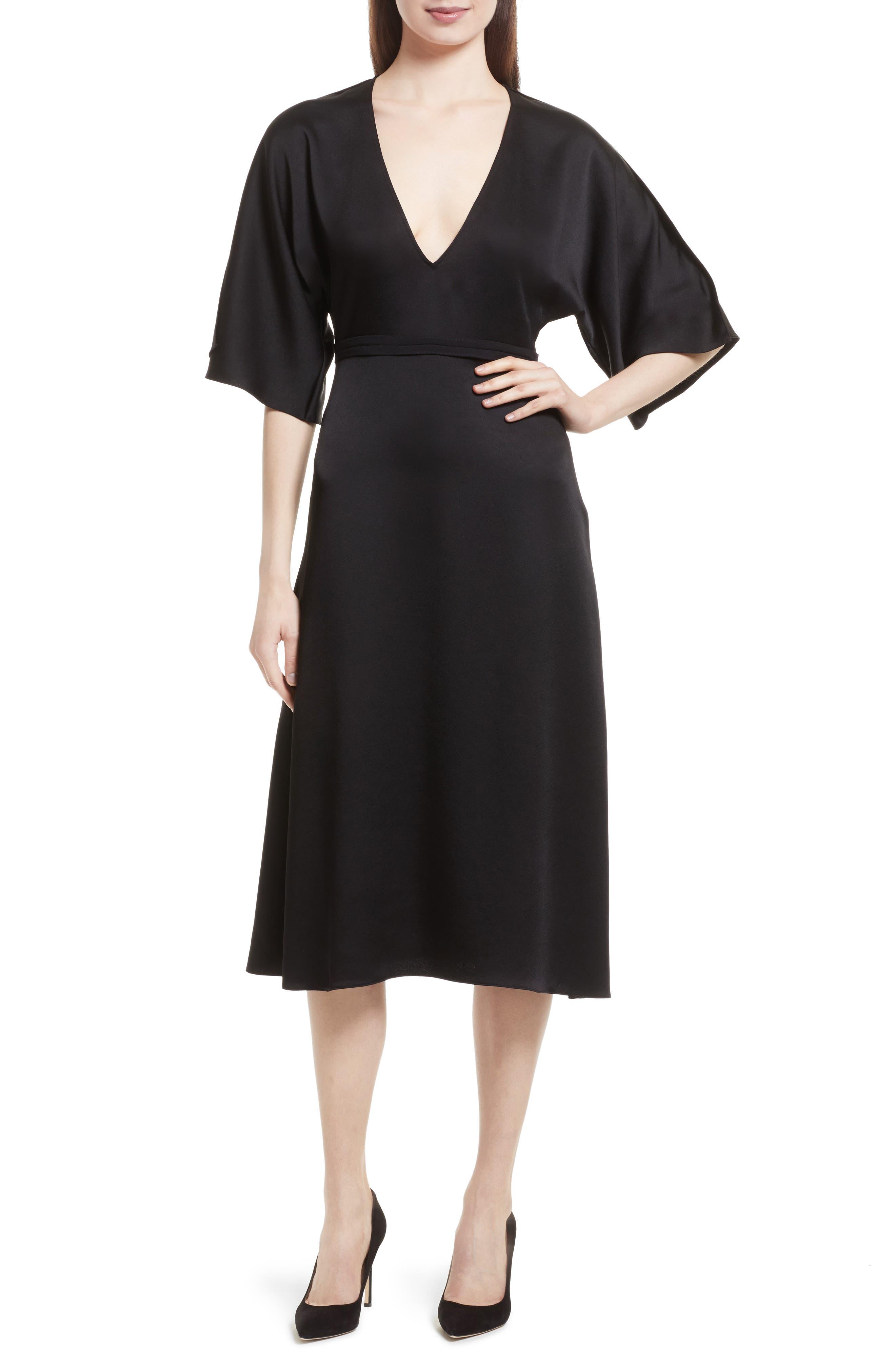 Kensington Midi Dress,                         Main,                         color, 001