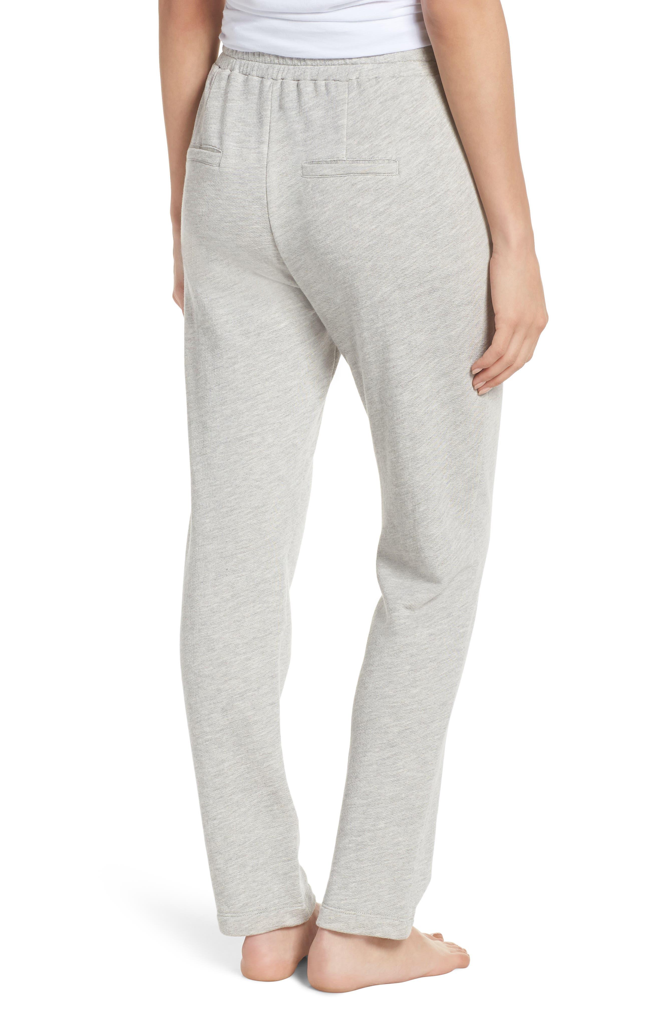 Terry Pajama Pants,                             Alternate thumbnail 2, color,                             028