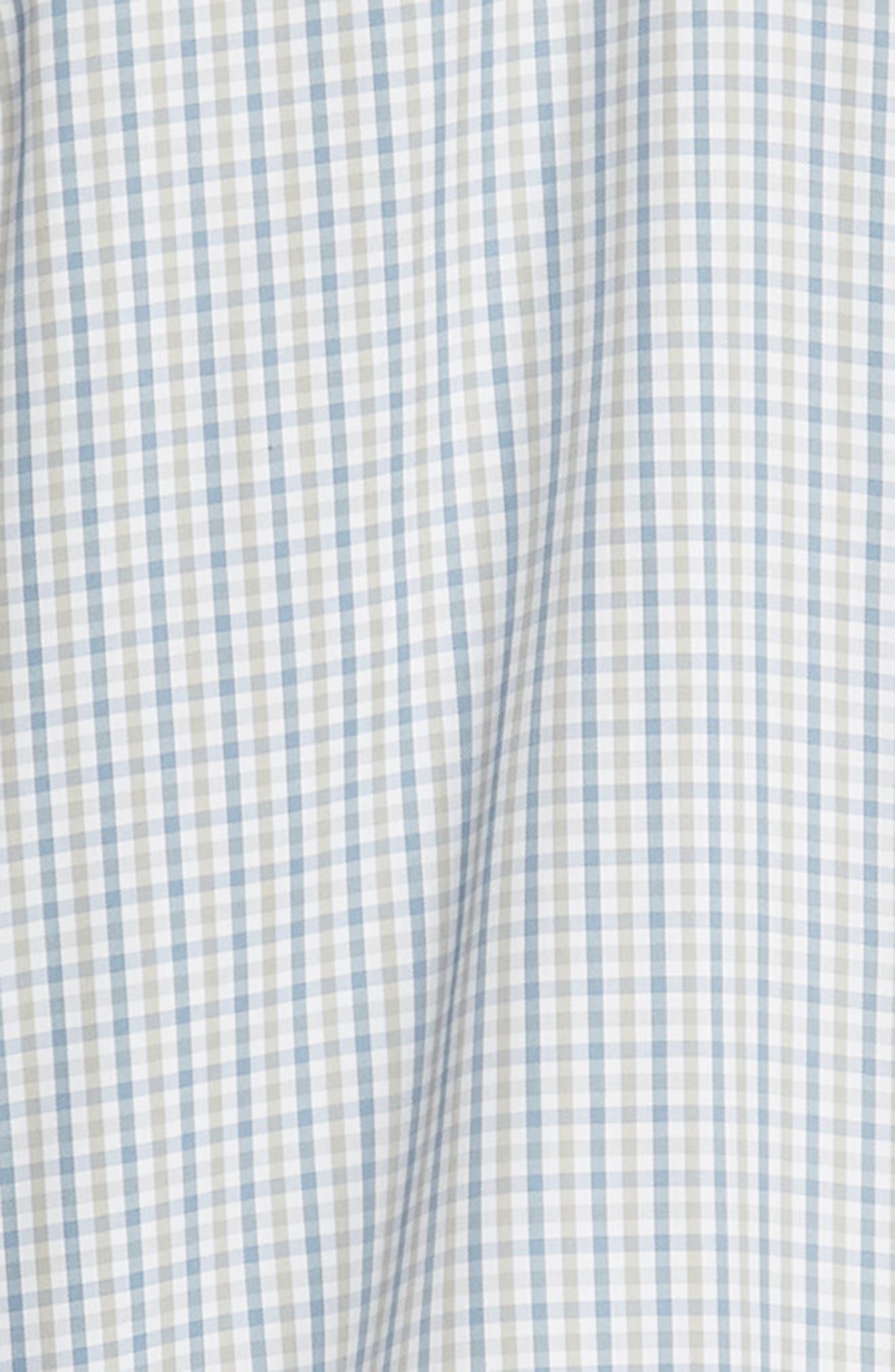 Lake City Regular Fit Tattersall Sport Shirt,                             Alternate thumbnail 6, color,                             020
