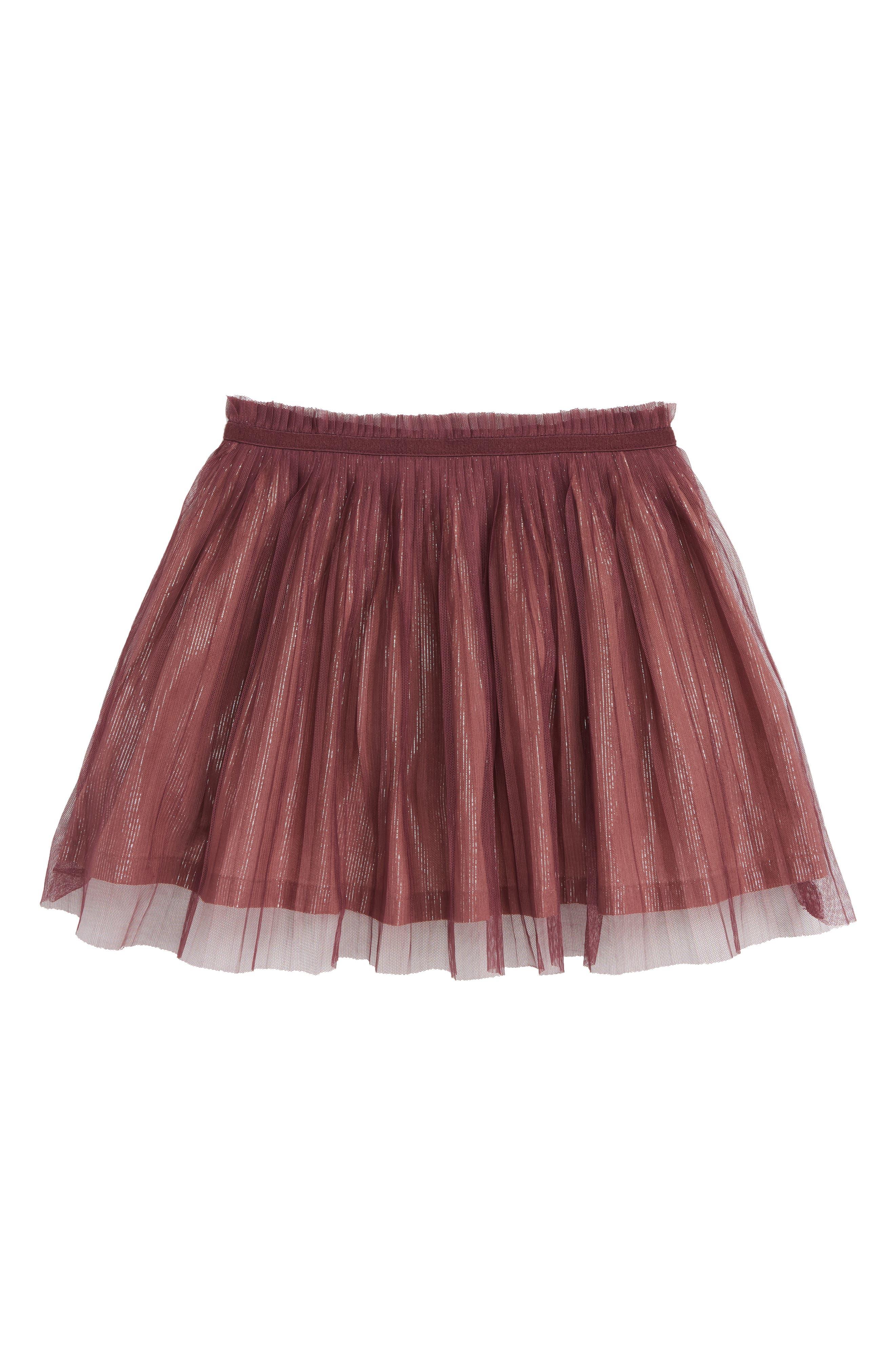 Girls Peek Dana Skirt Size 45  Grey