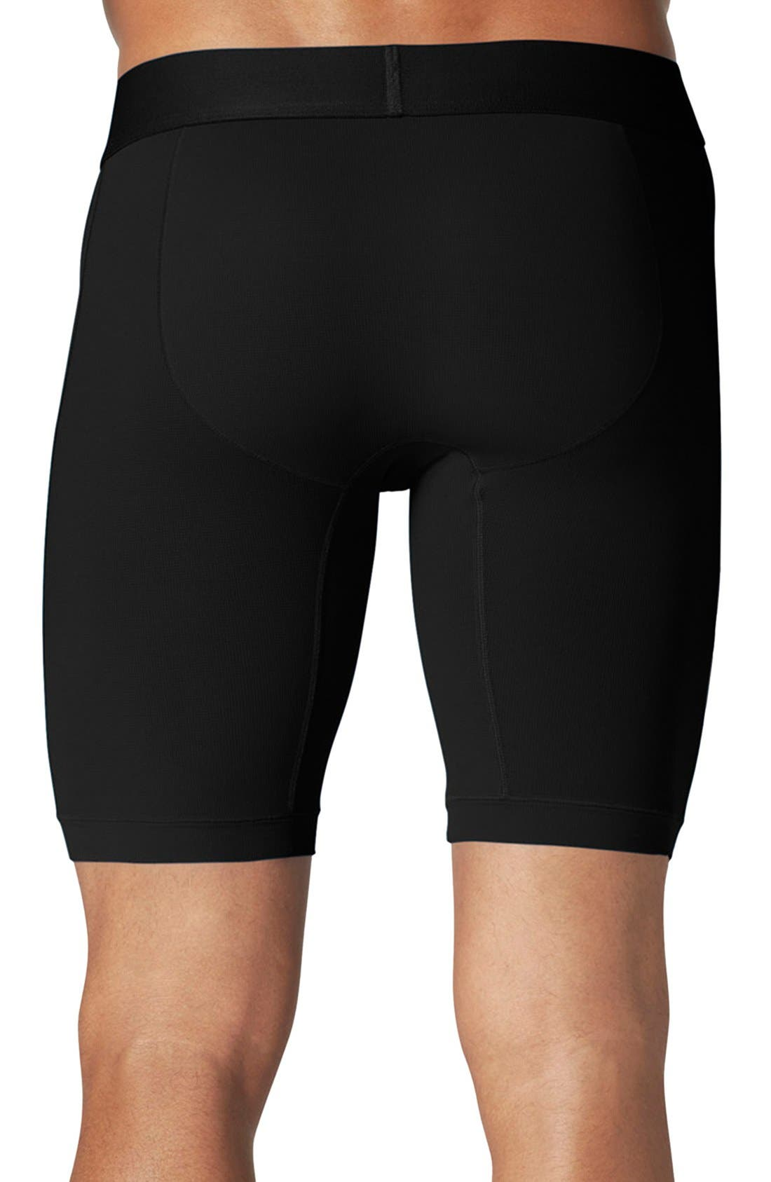 Air Boxer Briefs,                             Alternate thumbnail 2, color,                             BLACK