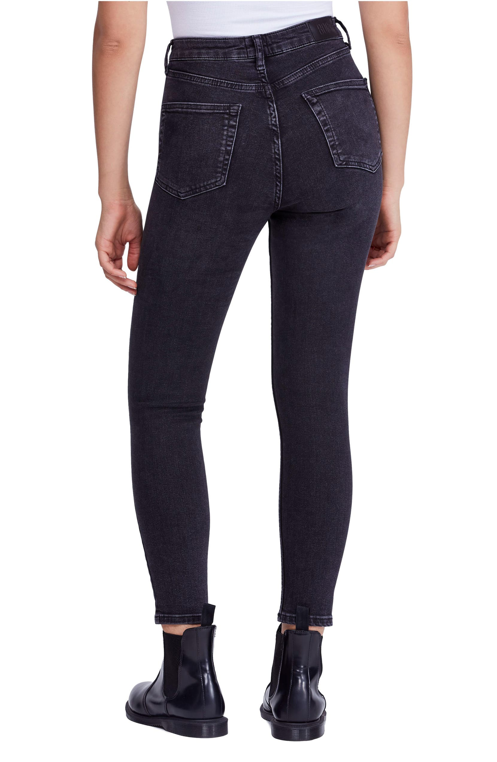 e457212673c BDG Urban Outfitters Pine High Waist Skinny Jeans (Carbon)