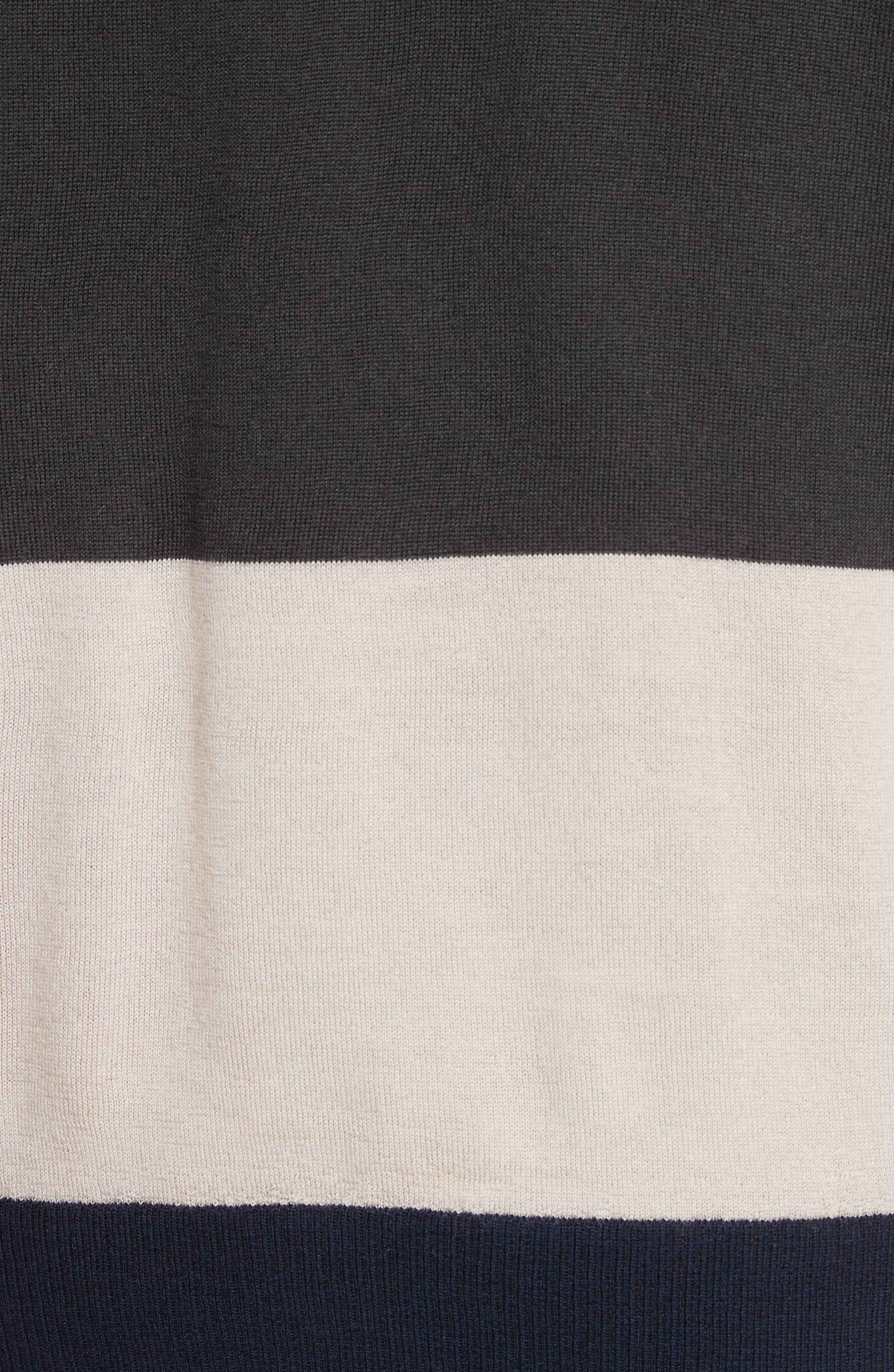 Colorblock Merino Wool Sweater,                             Alternate thumbnail 5, color,