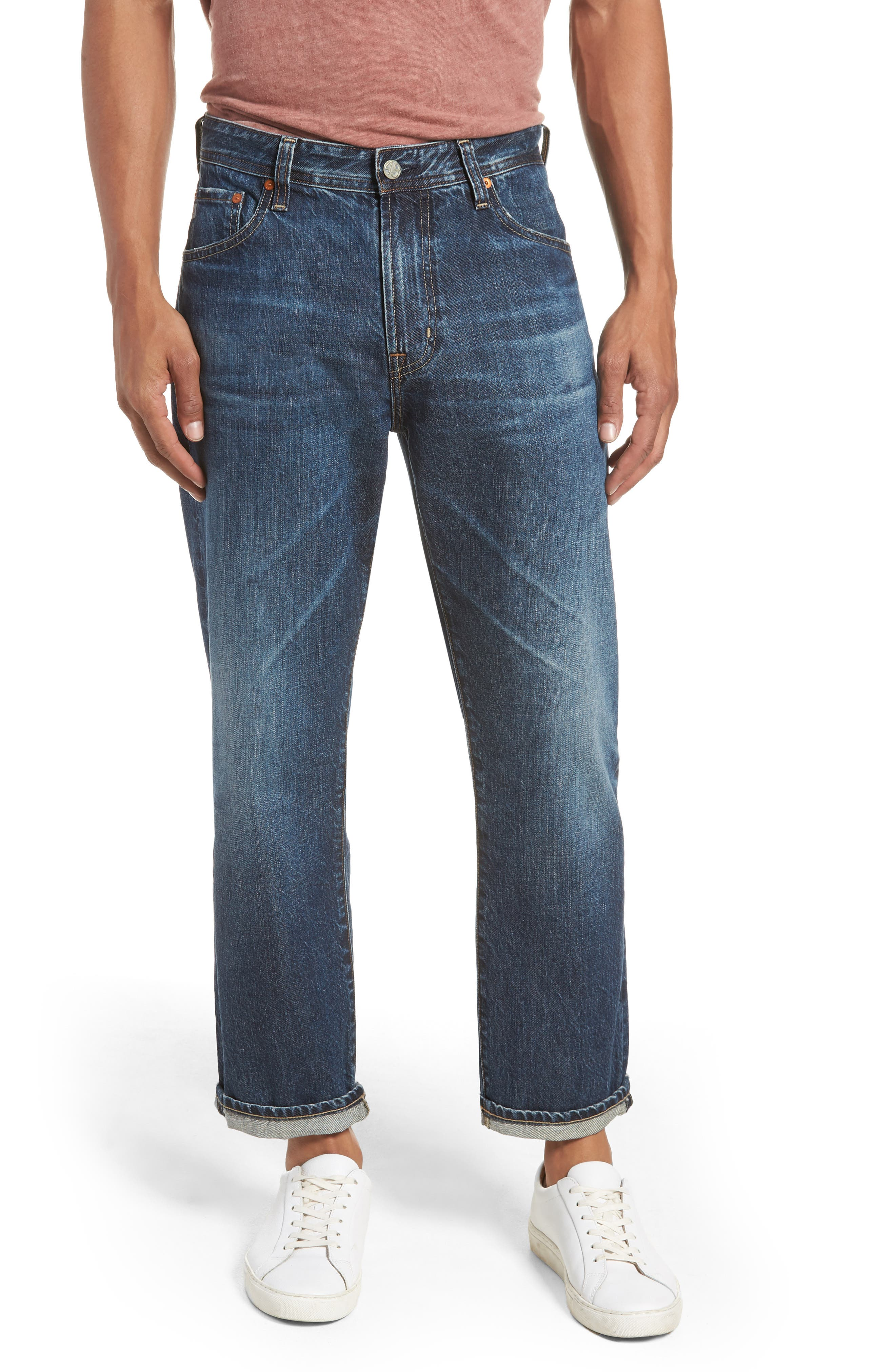 AG,                             Turner Crop Jeans,                             Main thumbnail 1, color,                             430