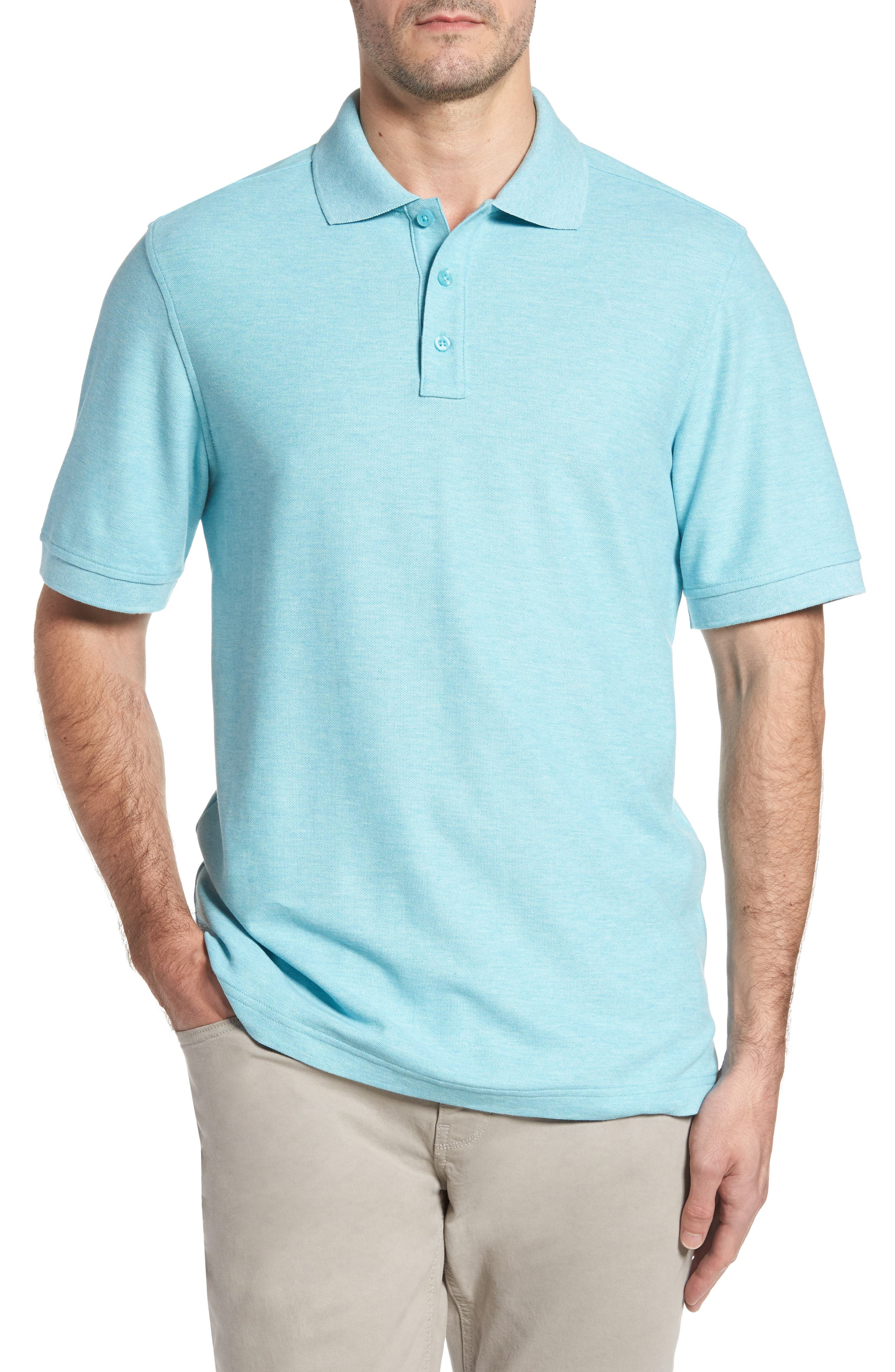 Classic Regular Fit Piqué Polo,                             Main thumbnail 1, color,                             441