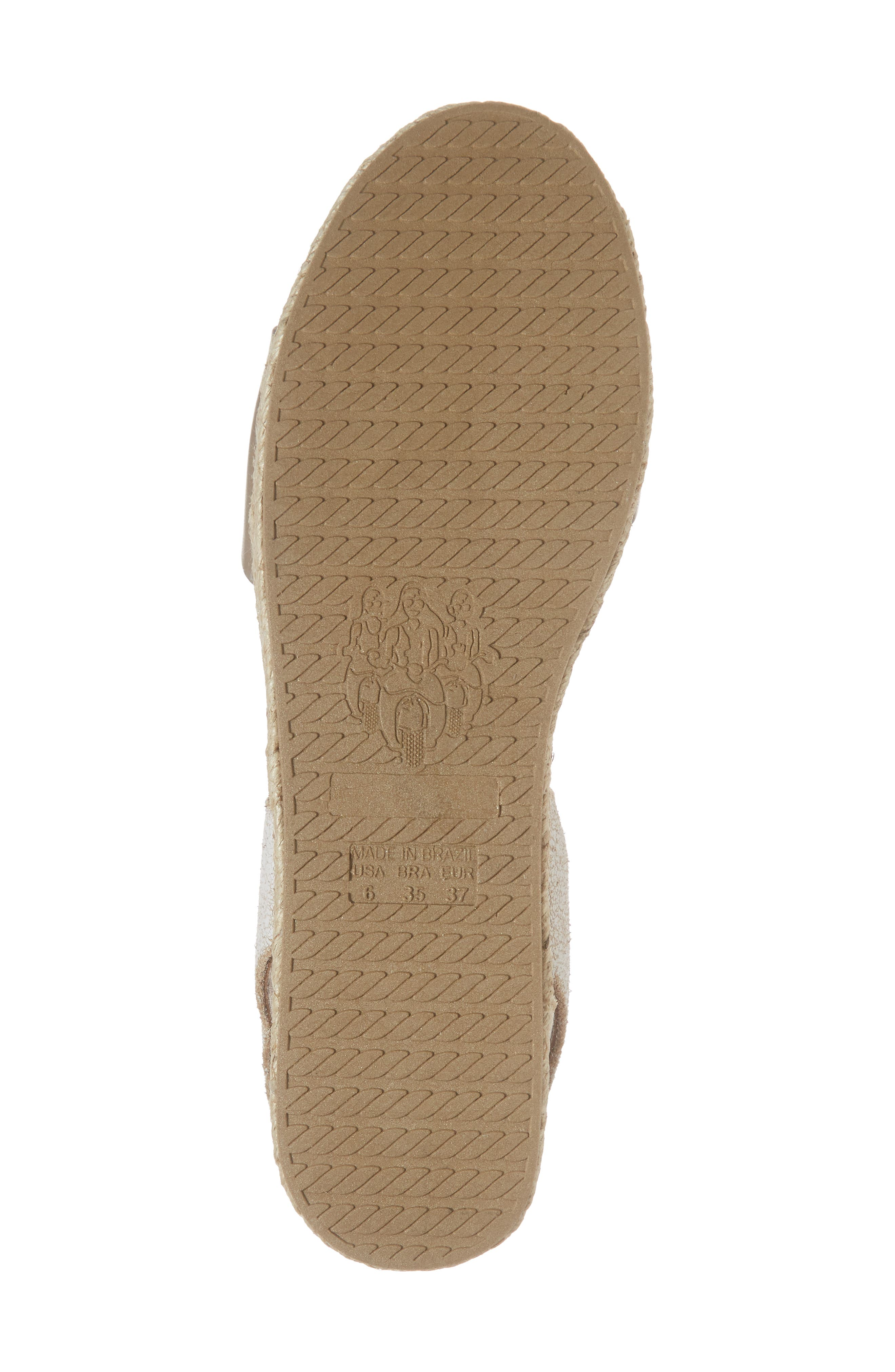 Erika Espadrille Sandal,                             Alternate thumbnail 6, color,                             042