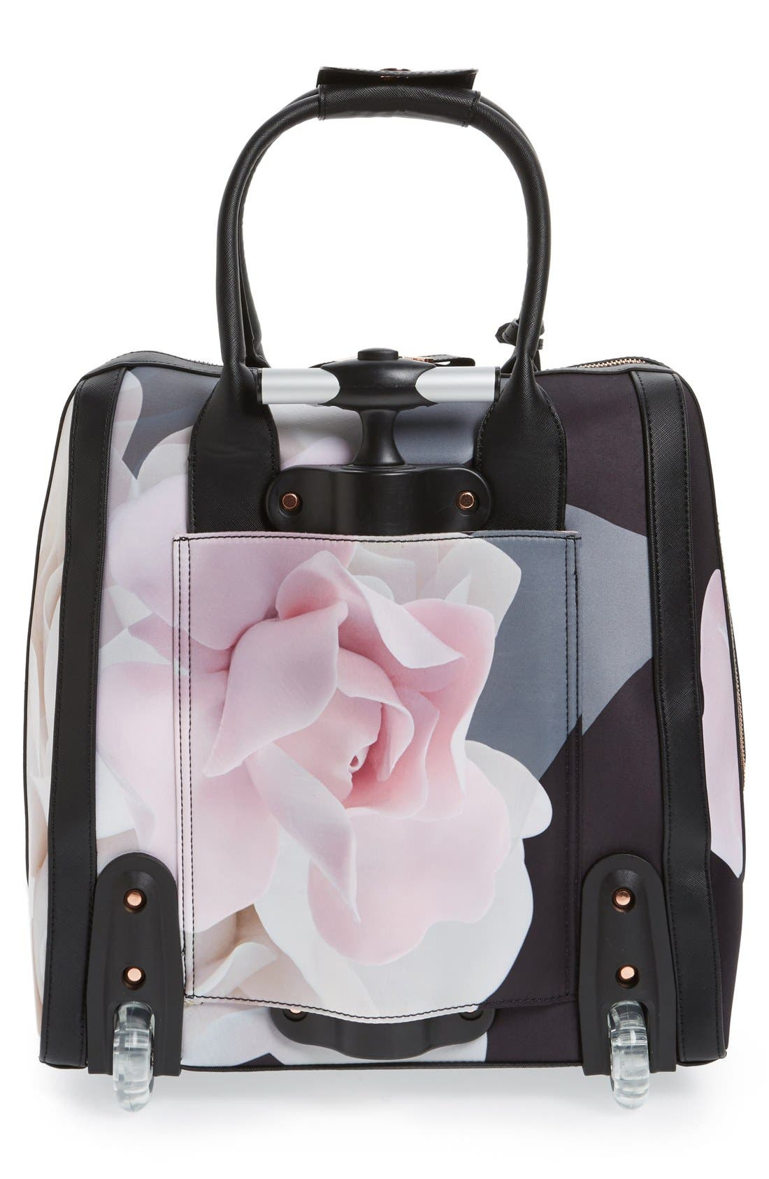 TED BAKER LONDON,                             'Porcelain Rose - Odina' Travel Bag,                             Alternate thumbnail 2, color,                             001