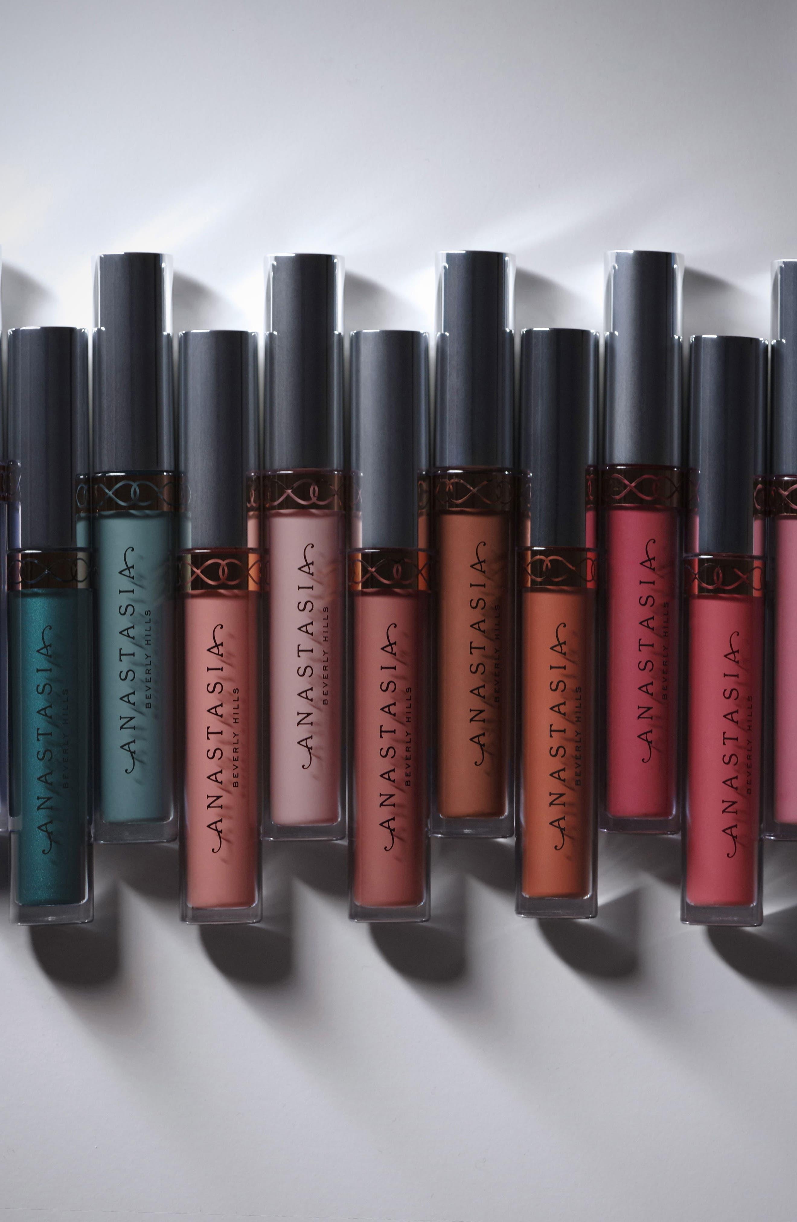 Liquid Lipstick,                             Alternate thumbnail 3, color,                             SEPIA