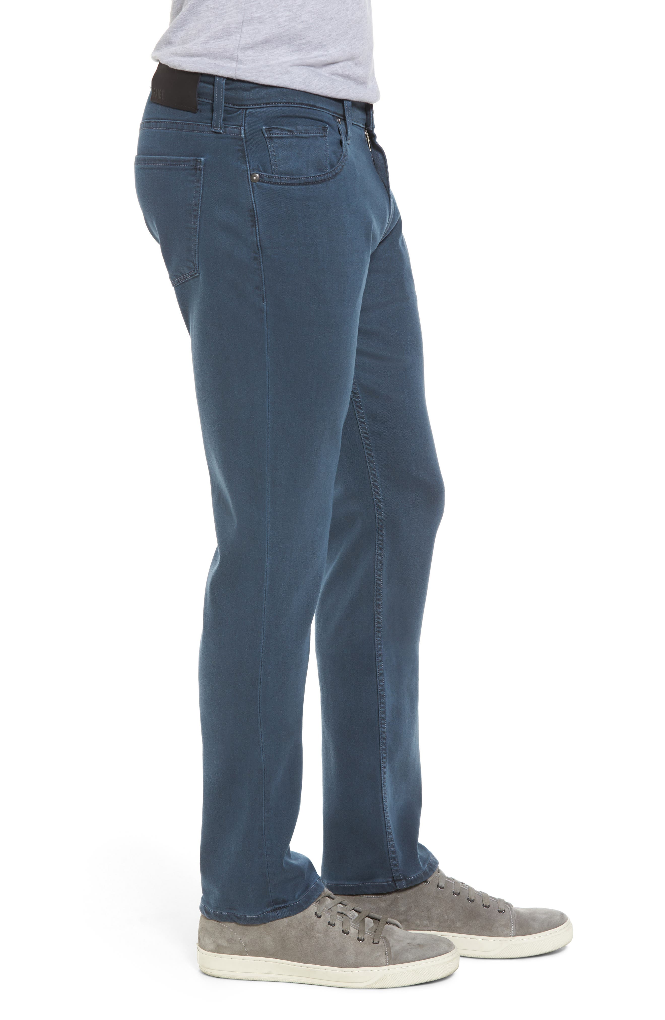 Transcend - Federal Slim Straight Fit Jeans,                             Alternate thumbnail 3, color,                             VINTAGE AMALFI