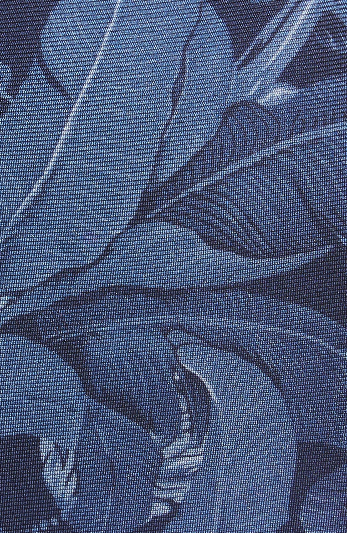 Banana Leaf Silk Tie,                             Alternate thumbnail 2, color,                             400