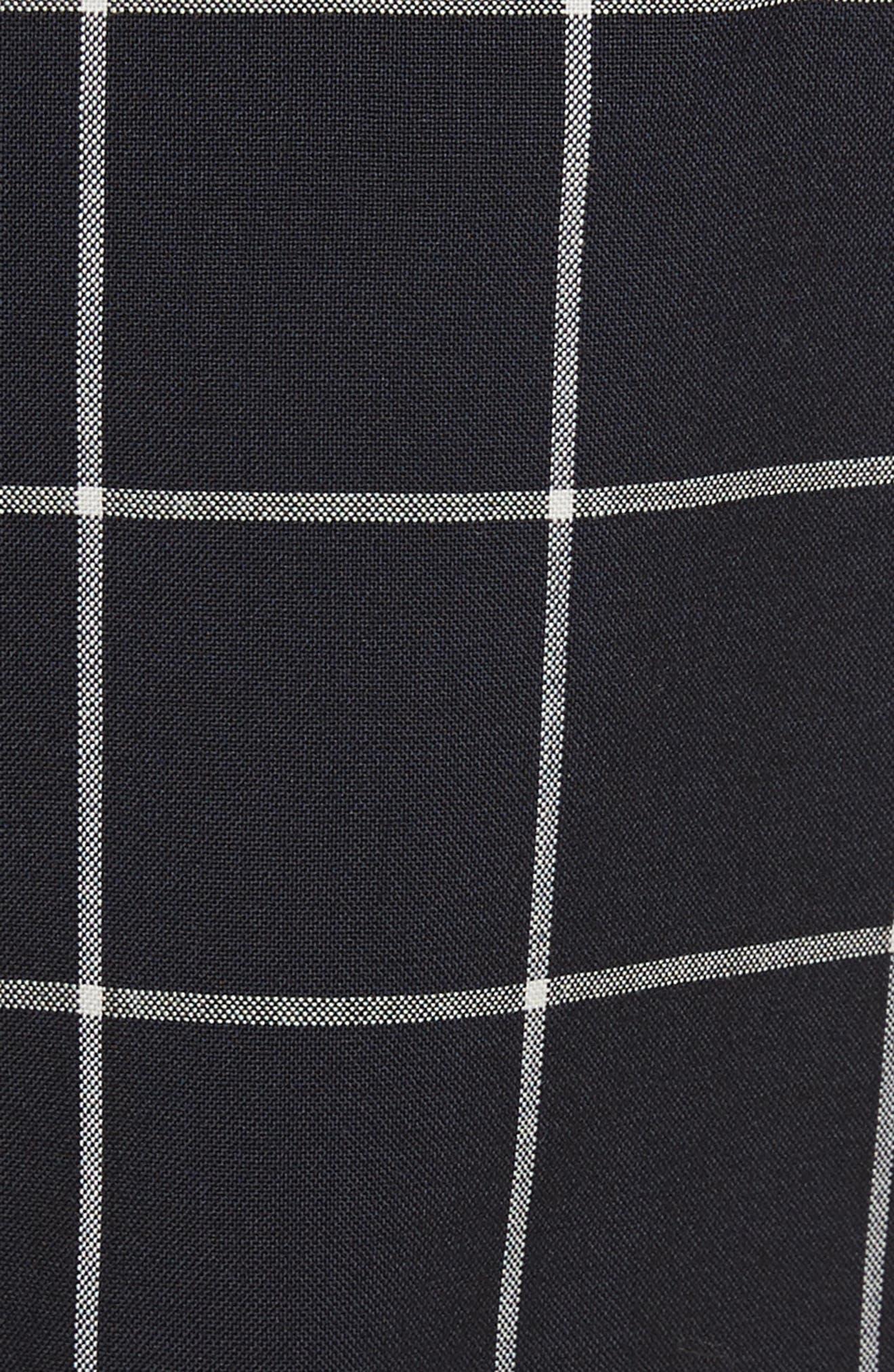 Peekaboo Windowpane Plaid Wool Shorts,                             Alternate thumbnail 5, color,                             435