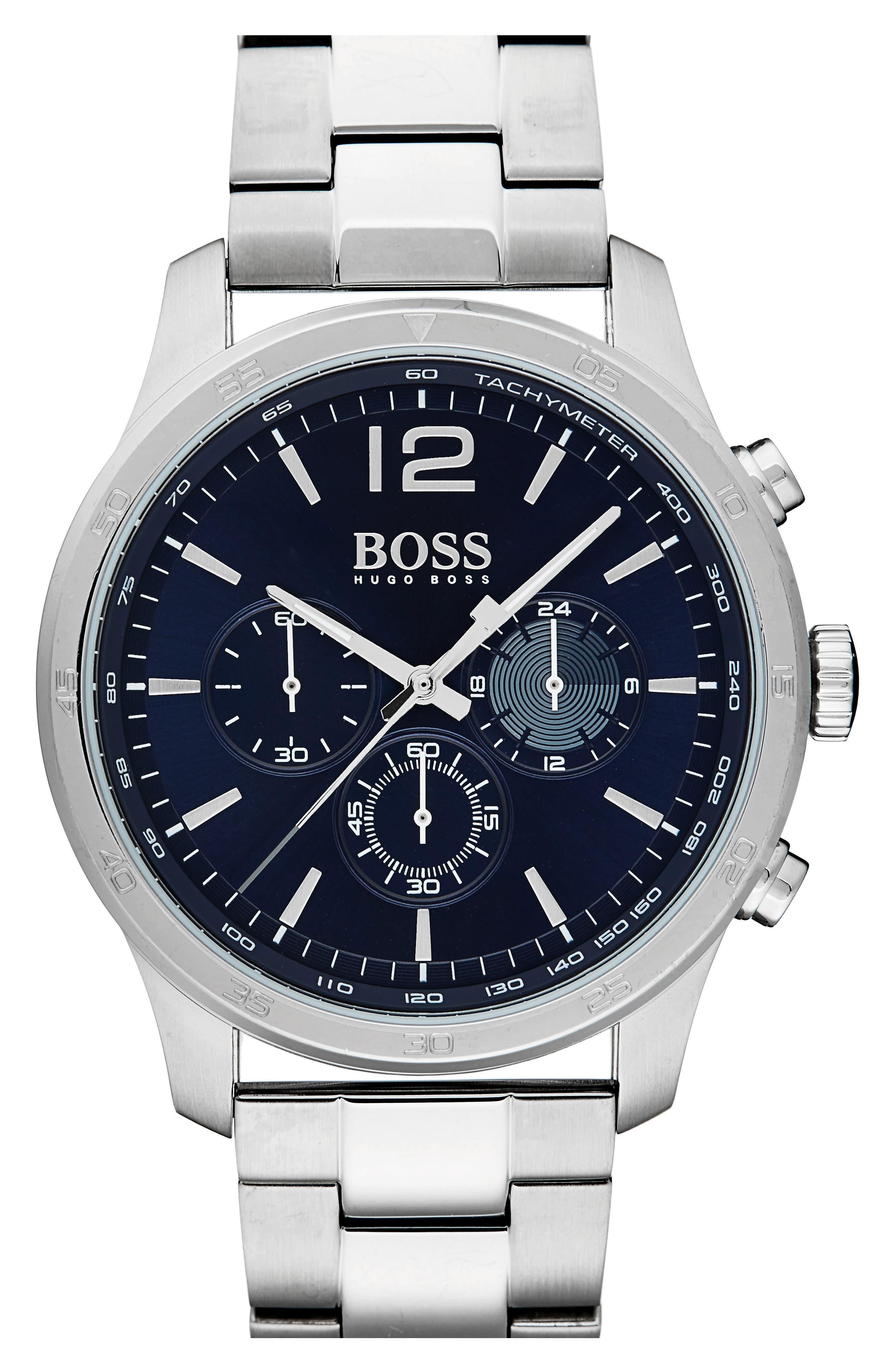 Professional Chronograph Bracelet Watch, 42mm,                         Main,                         color, 460