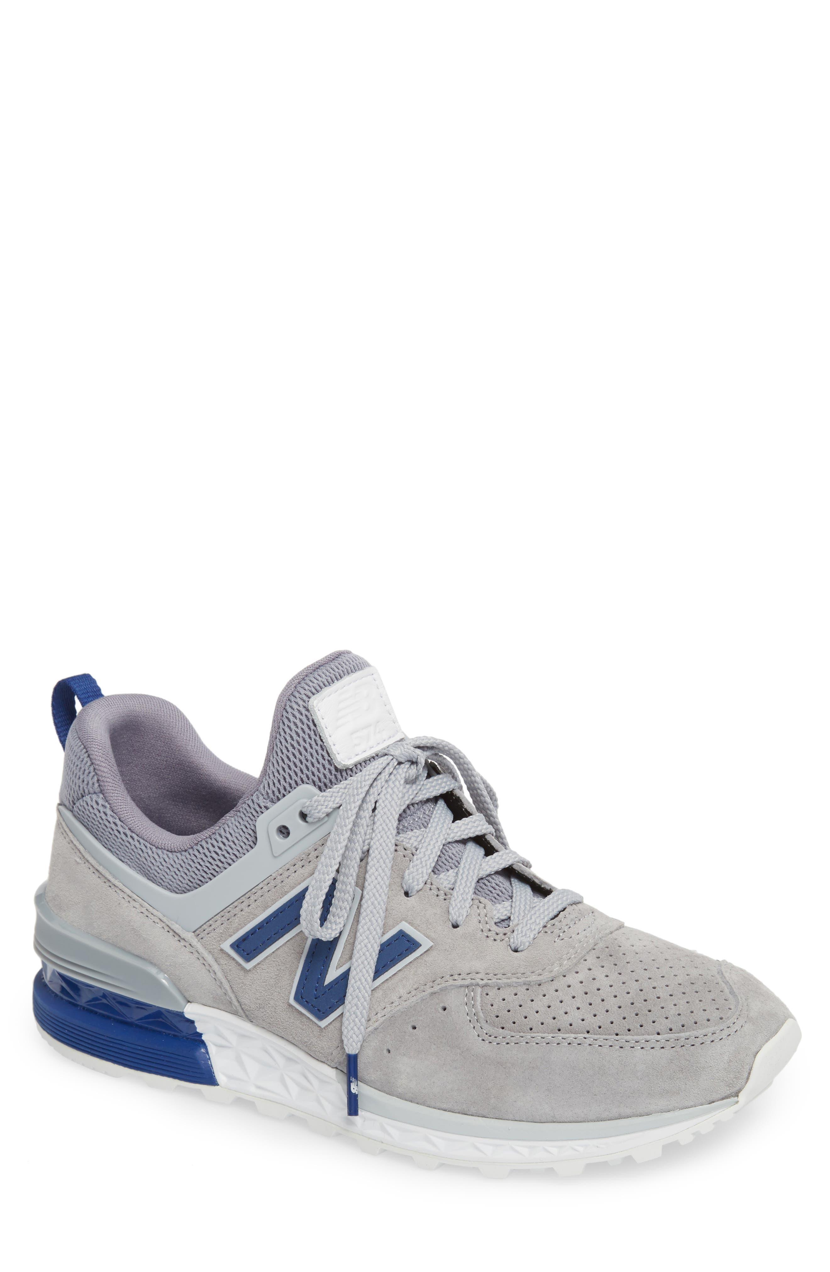 574 Sport Sneaker,                             Main thumbnail 1, color,                             STEEL GREY