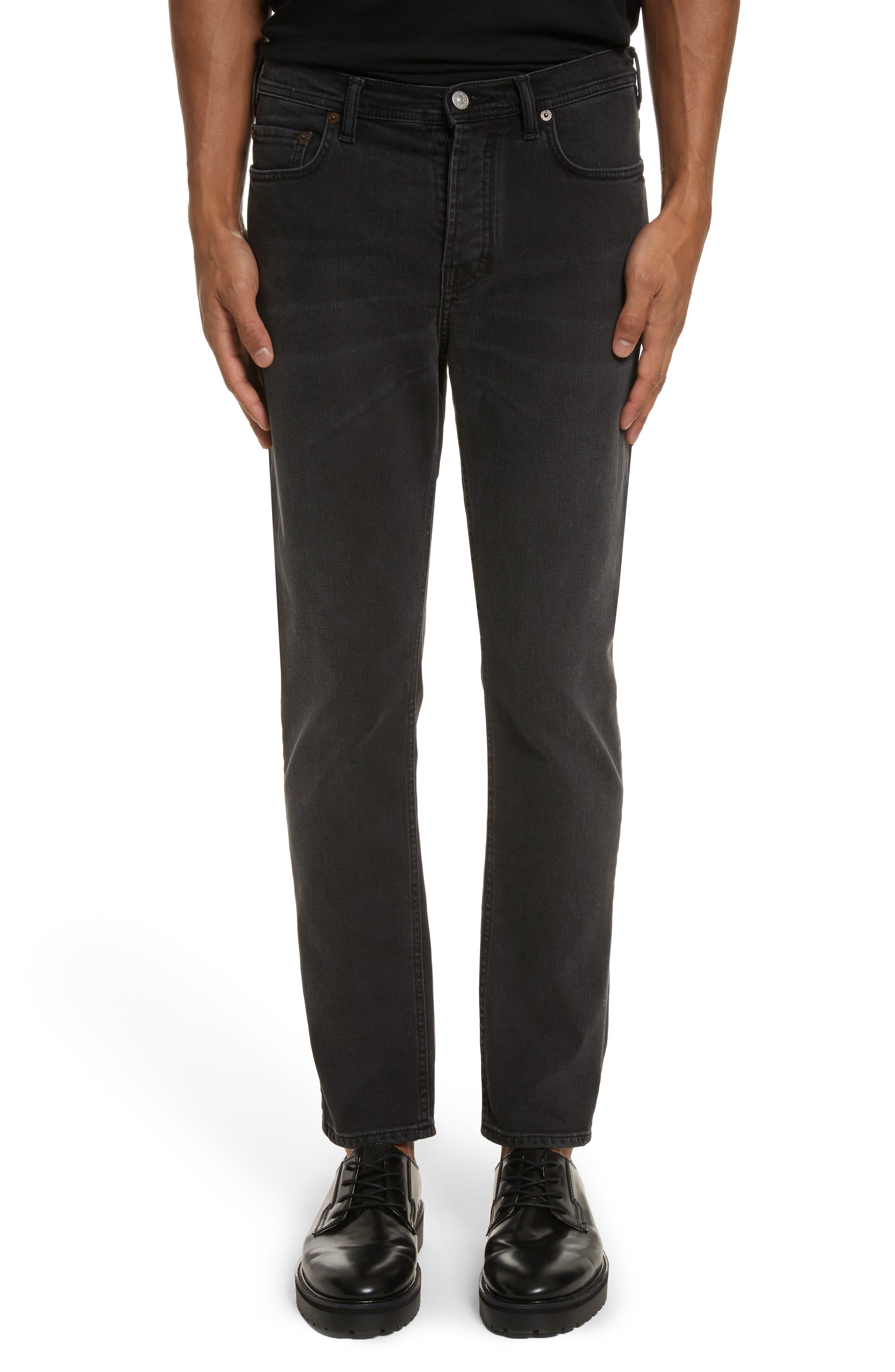 River Used Jeans,                         Main,                         color, 151 USED BLACK