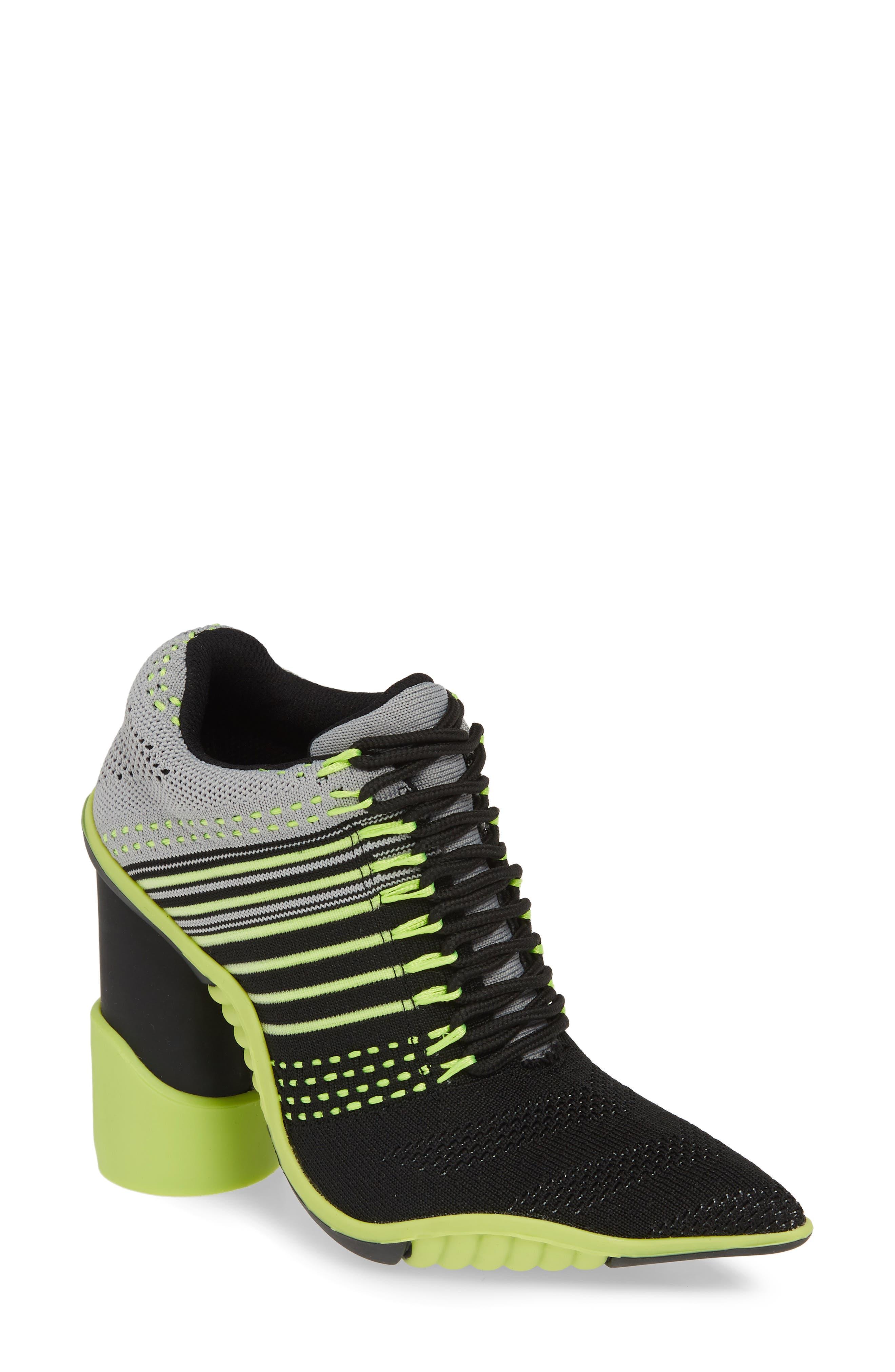 Jeffrey Campbell Sport Block Heel Bootie- Black