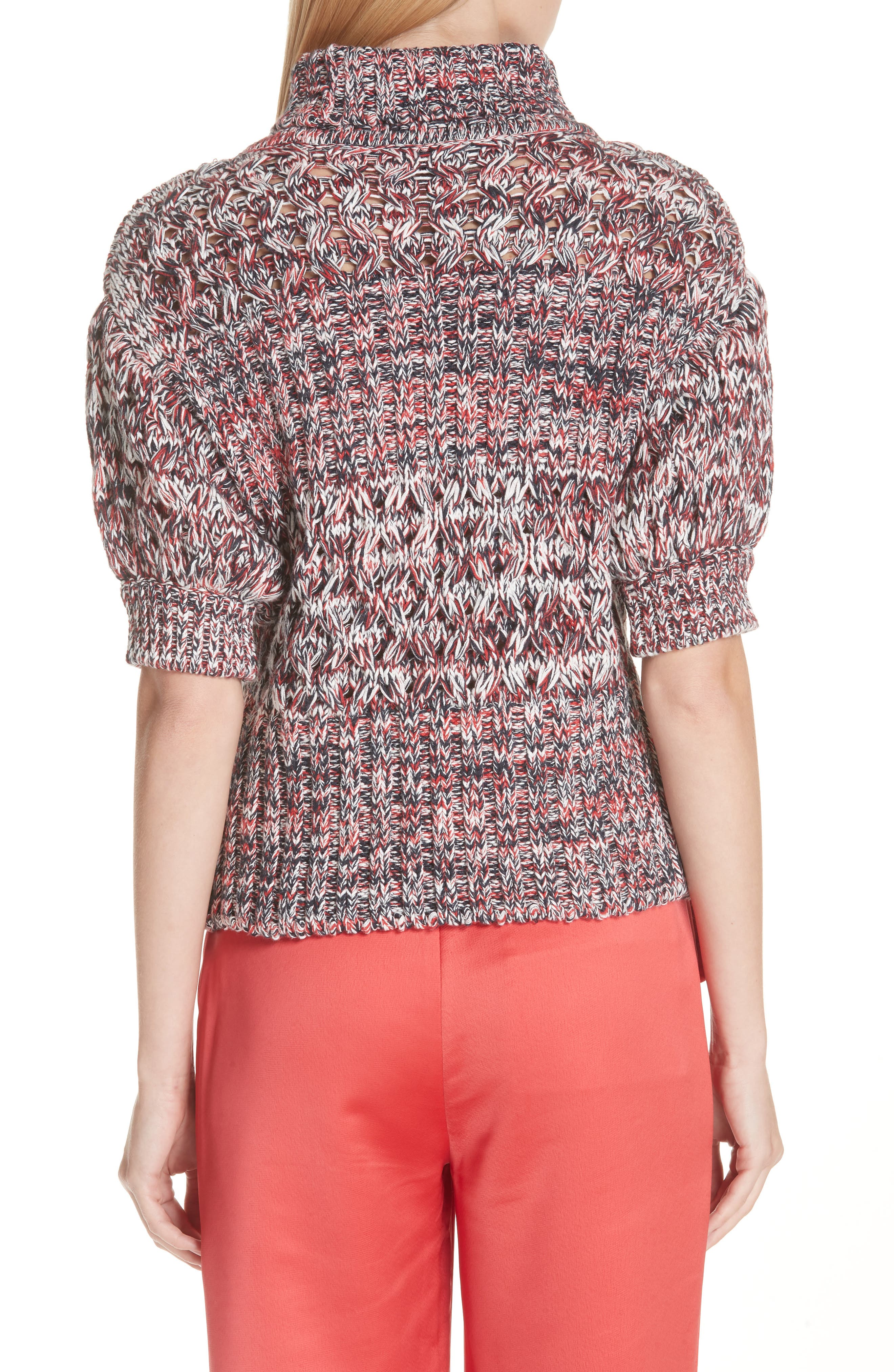 Mélange Cotton & Wool Sweater,                             Alternate thumbnail 2, color,                             600