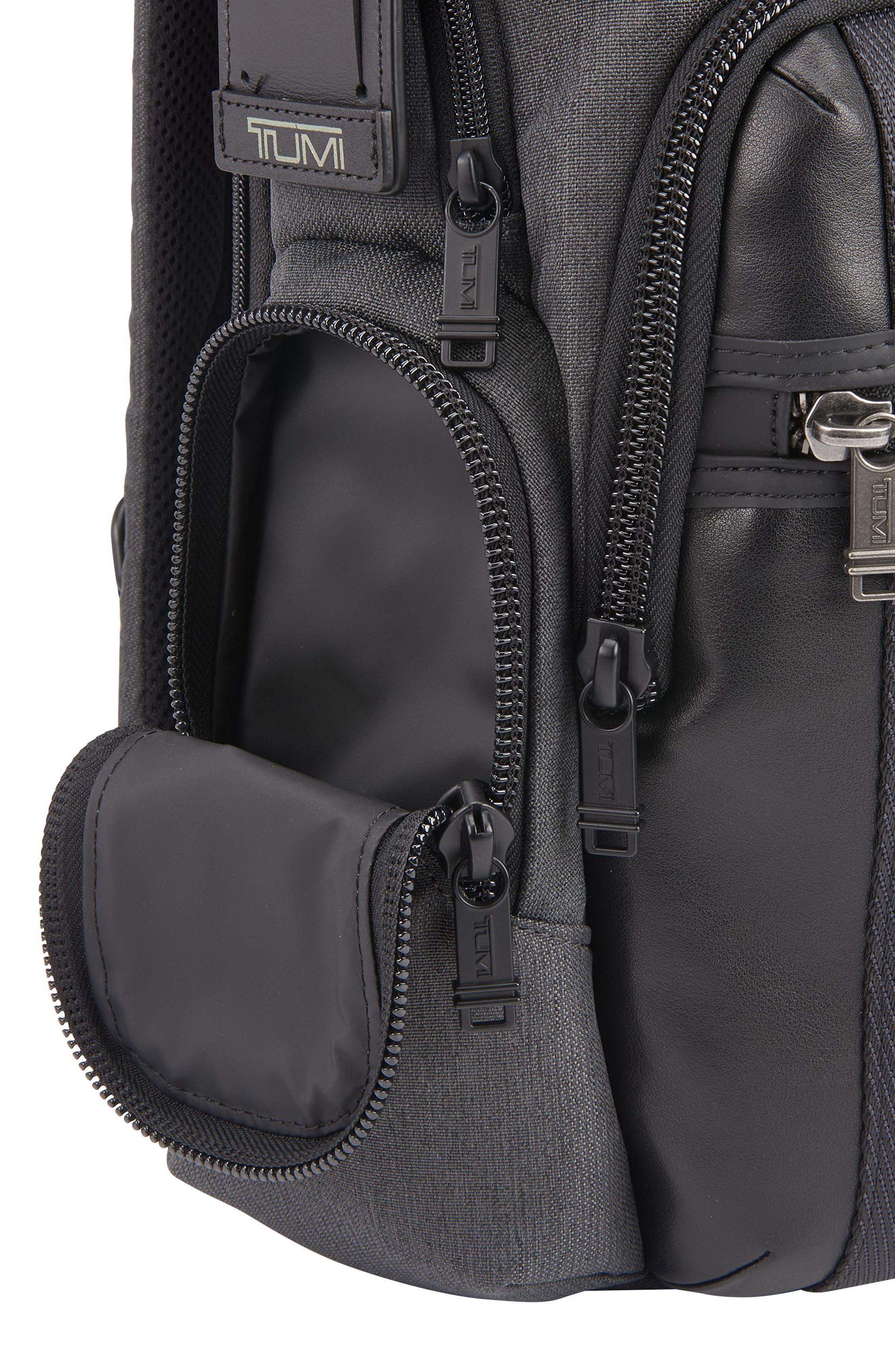 Alpha Bravo - Nellis Backpack,                             Alternate thumbnail 4, color,                             ANTHRACITE