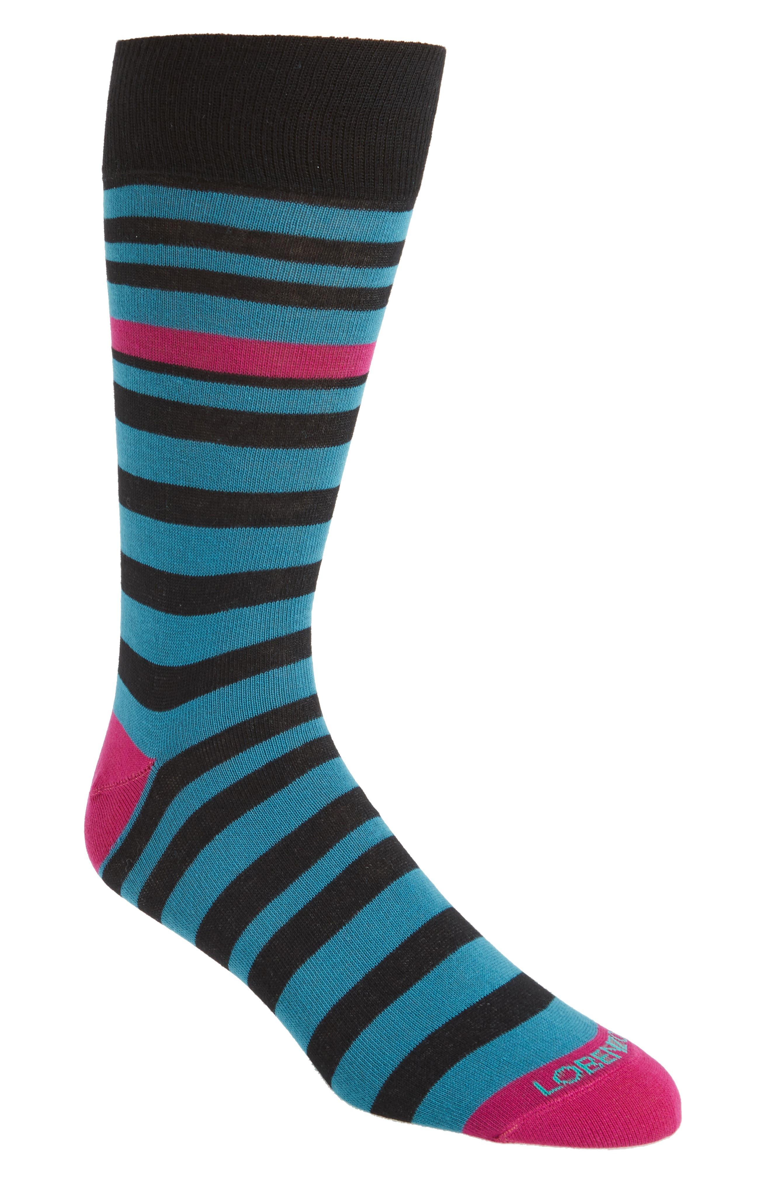 Stripe Socks,                         Main,                         color, 001