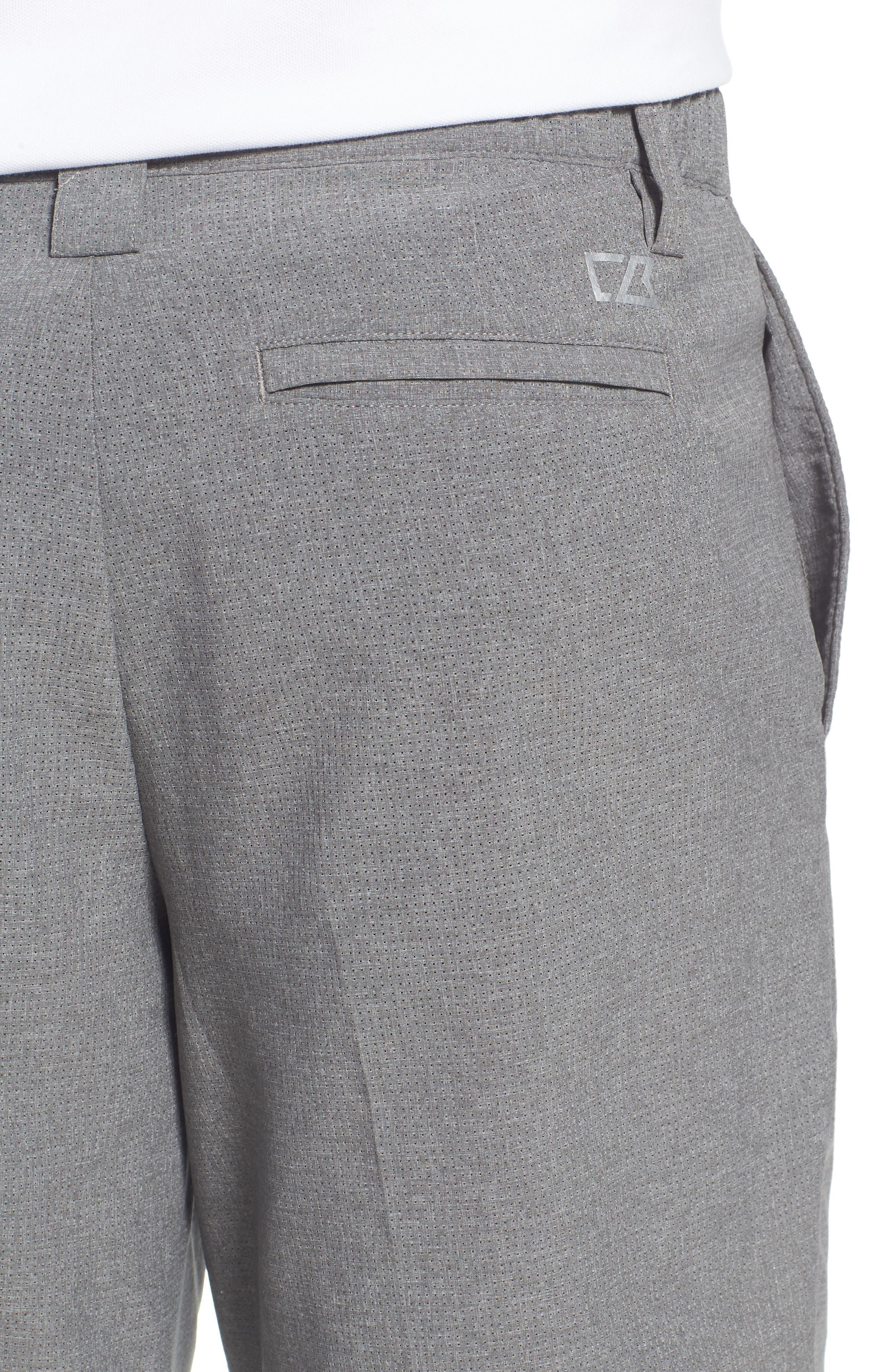 Windsor Active Classic Fit Shorts,                             Alternate thumbnail 4, color,                             GRAVEL