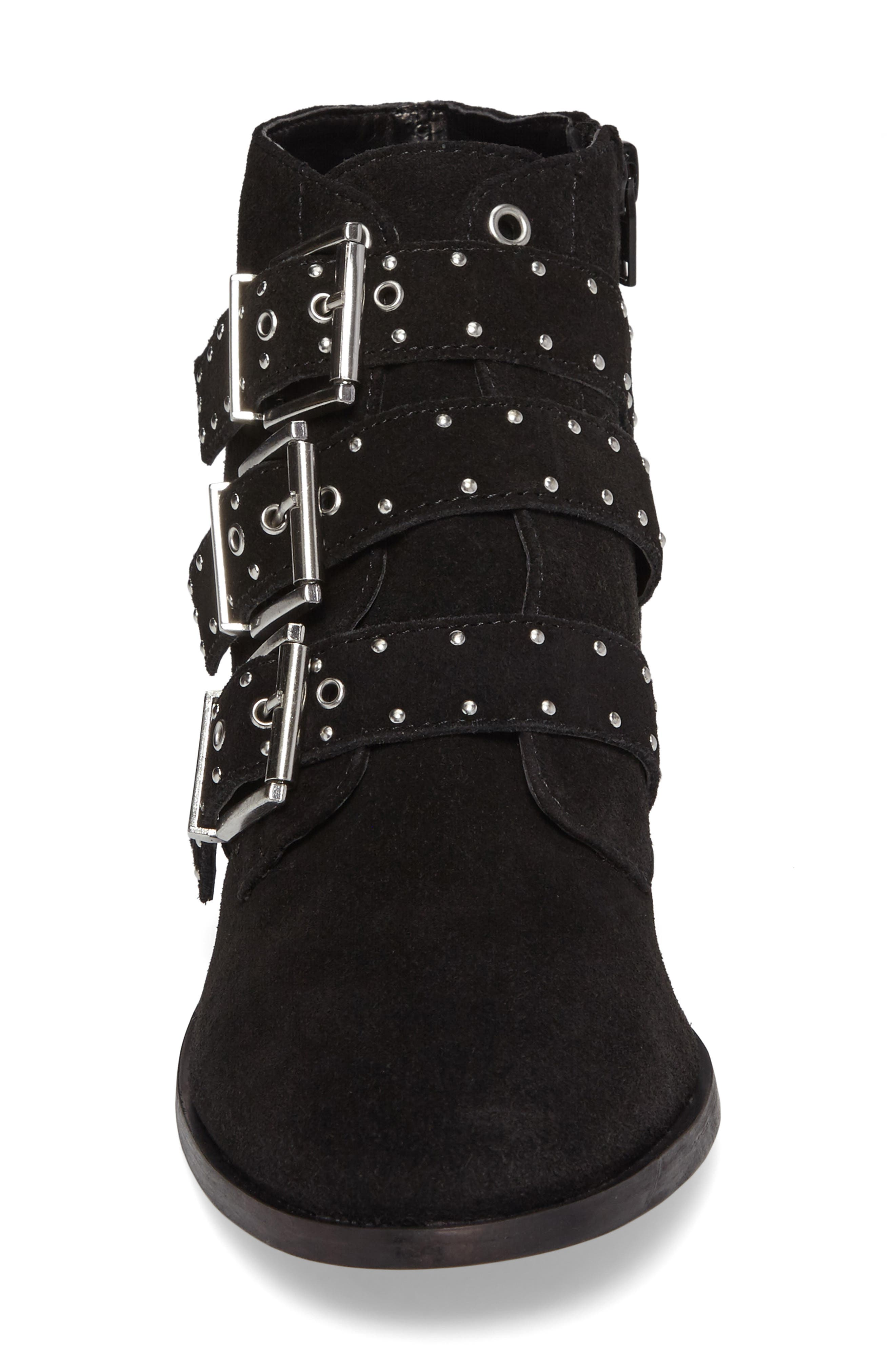 Krown Studded Bootie,                             Alternate thumbnail 7, color,