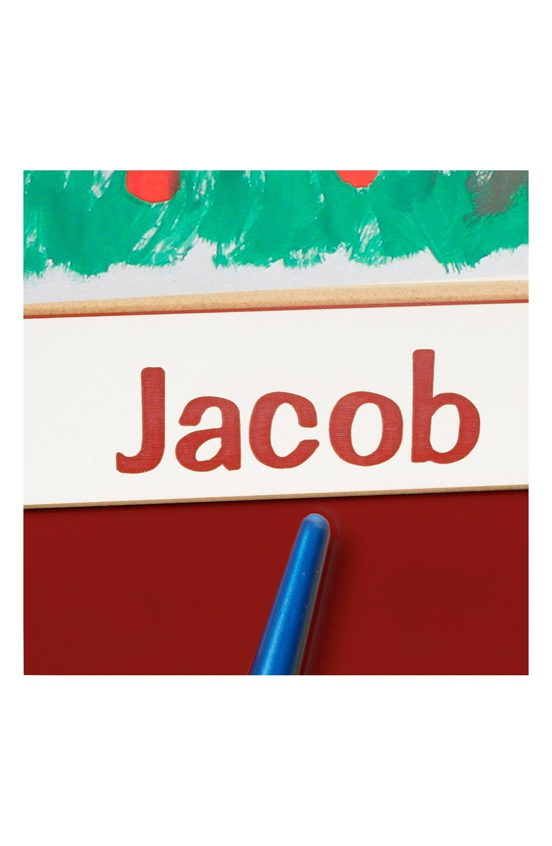 Personalized Wooden Standing Art Easel,                             Alternate thumbnail 2, color,                             RED