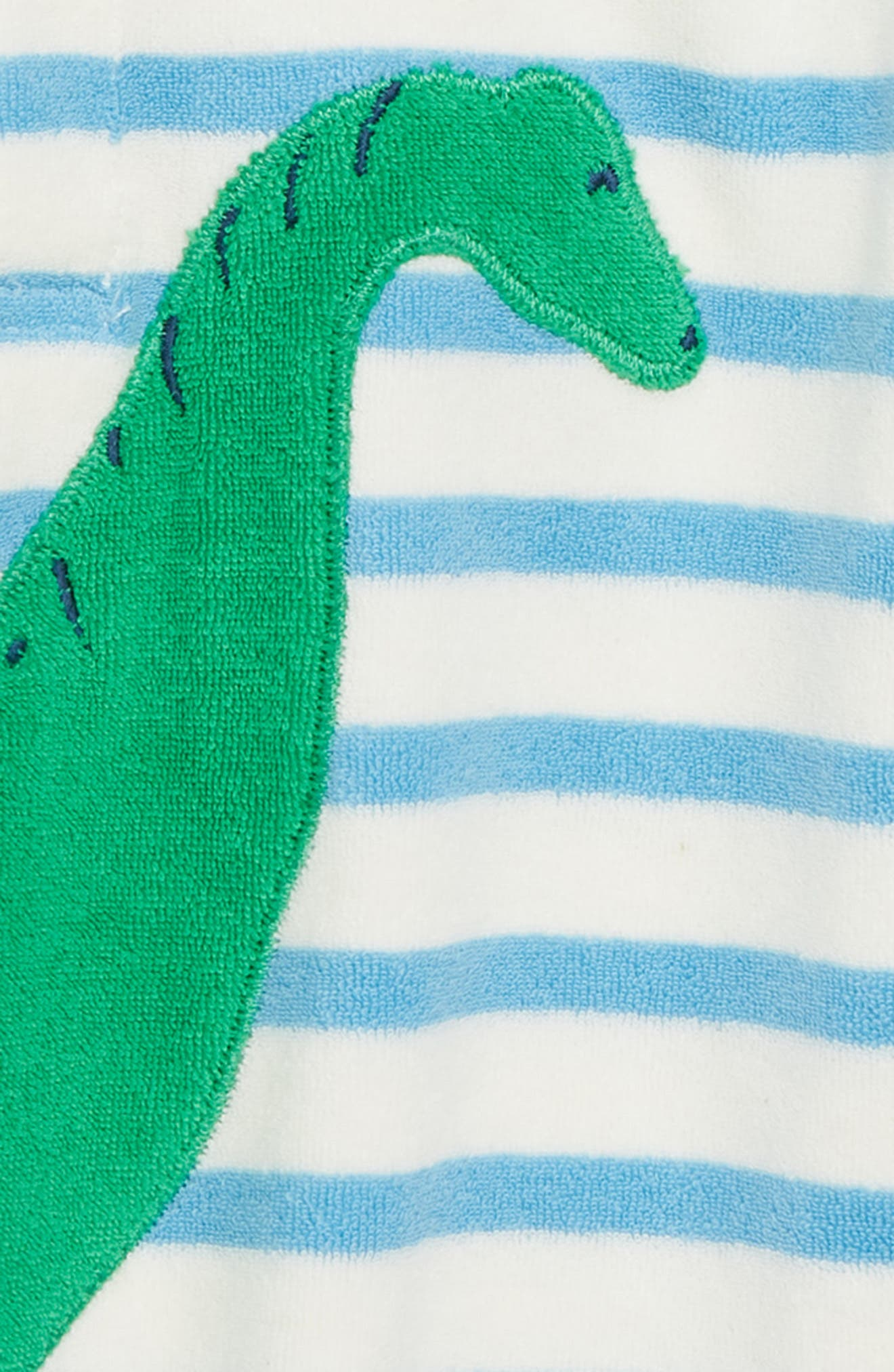 Animal Toweling Throw-On Beach Cover-Up,                             Alternate thumbnail 2, color,