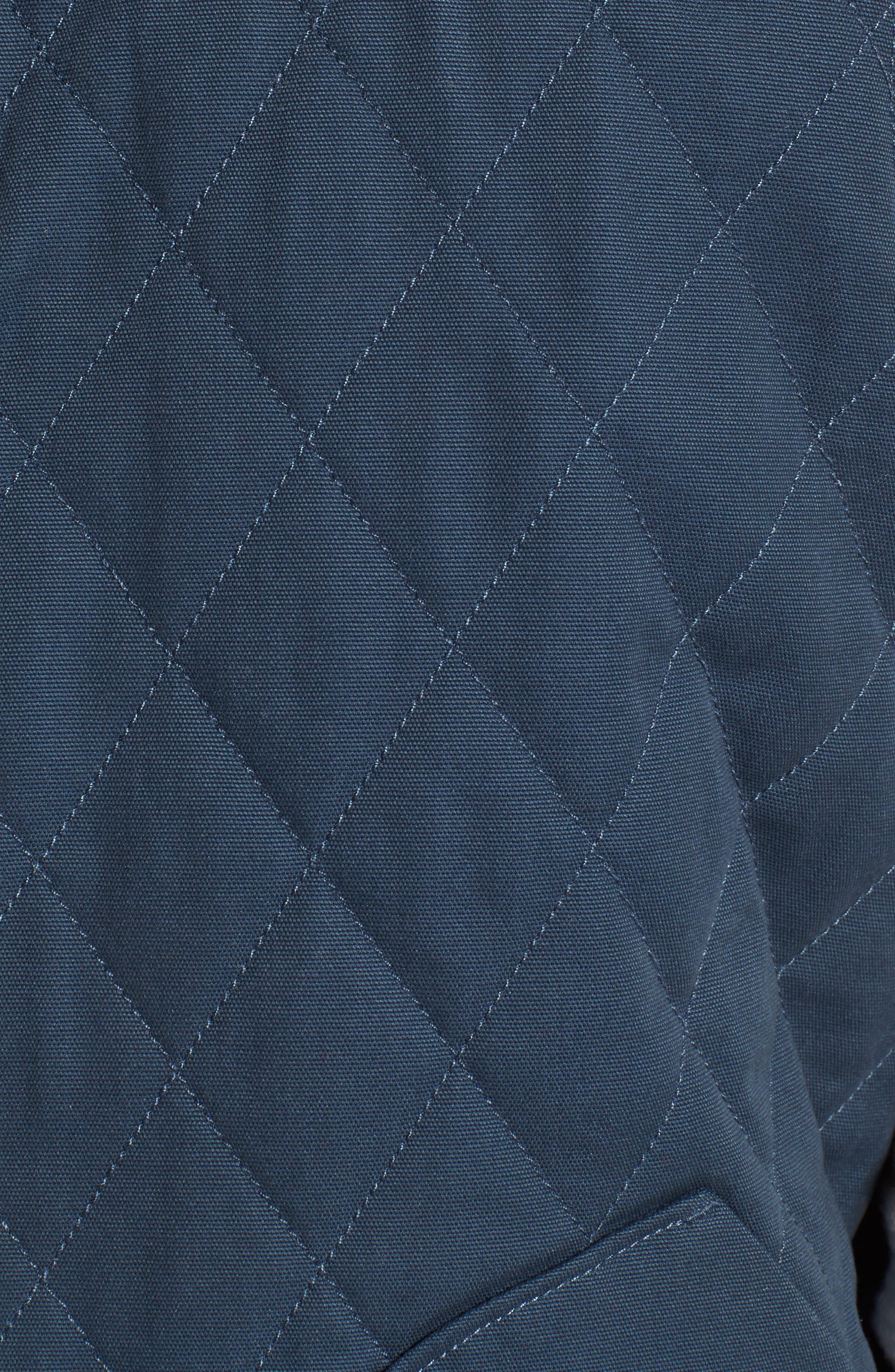 Reversible Canvas Vest,                             Alternate thumbnail 7, color,