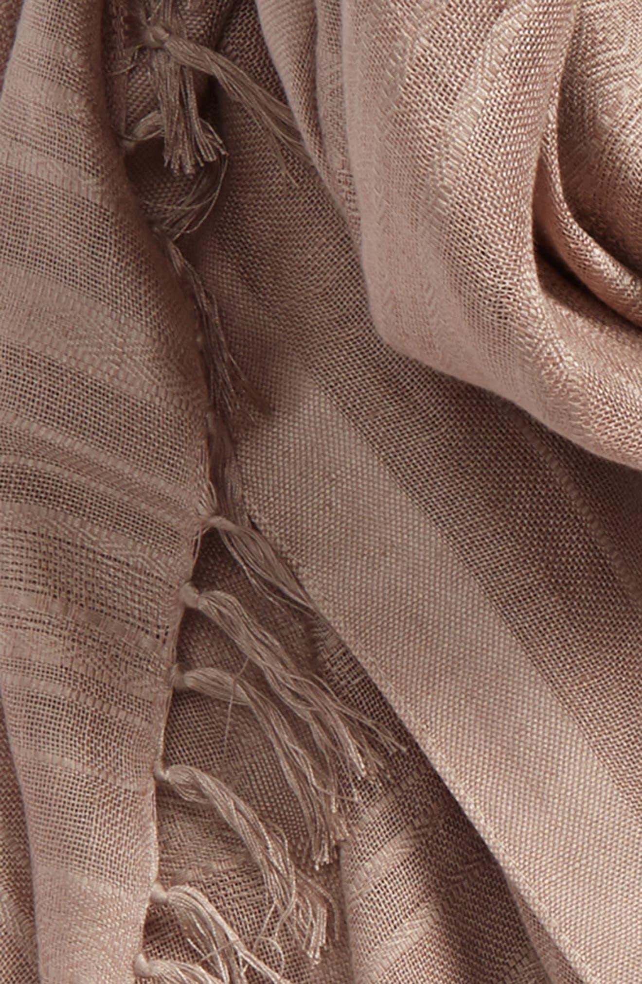 Solid Linen Blend Scarf,                             Alternate thumbnail 17, color,