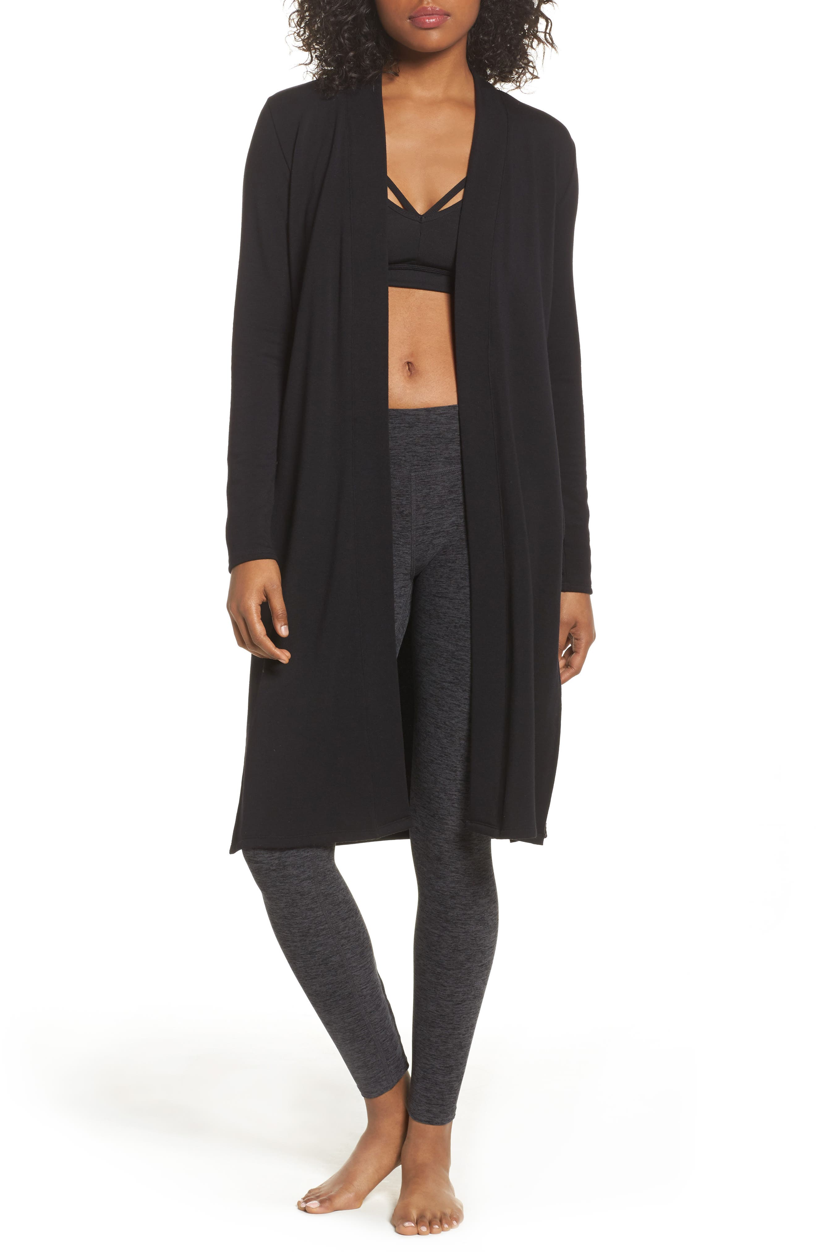 Slit Duster,                         Main,                         color, BLACK