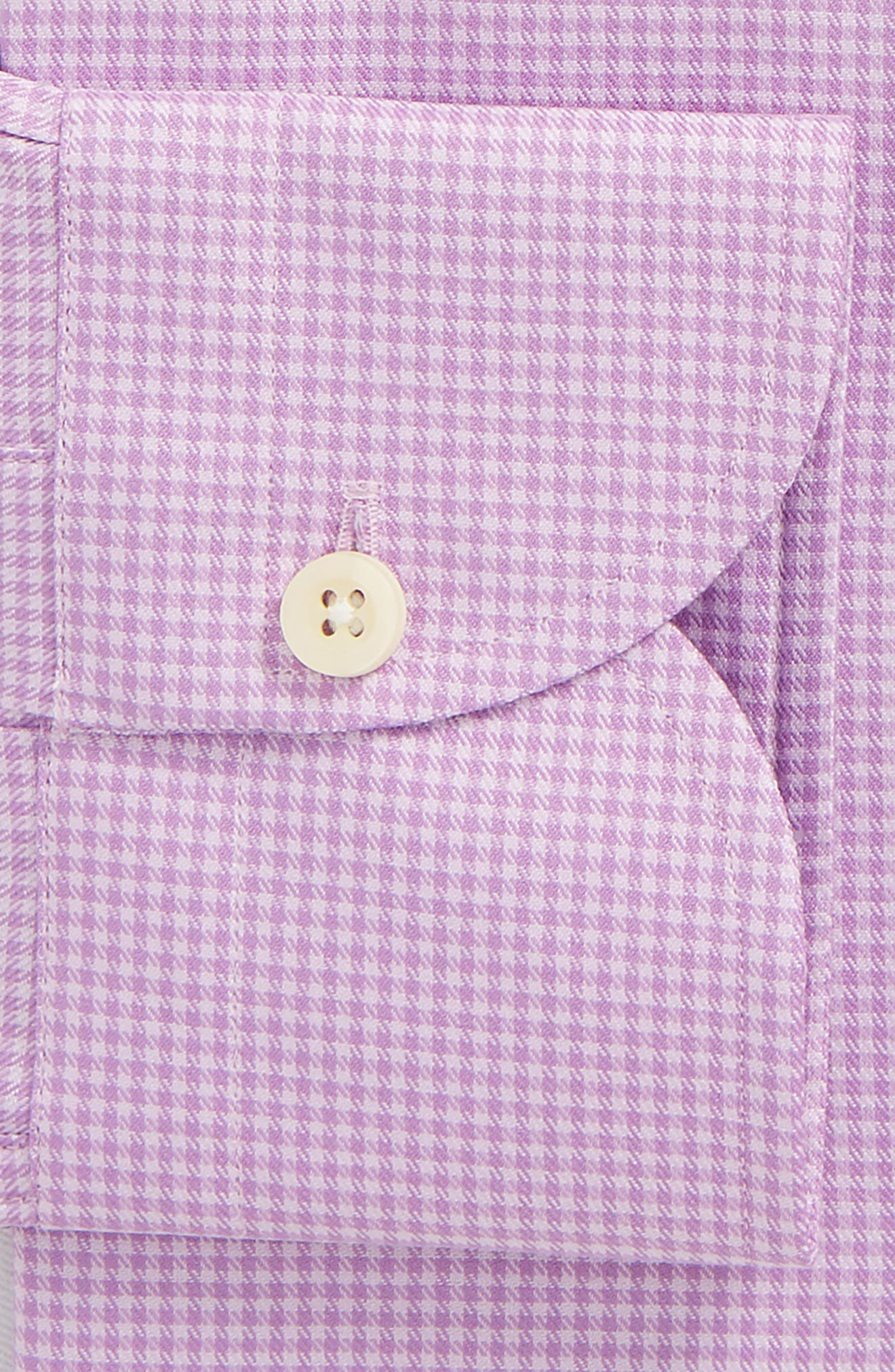 Innis Slim Fit Check Dress Shirt,                             Alternate thumbnail 8, color,