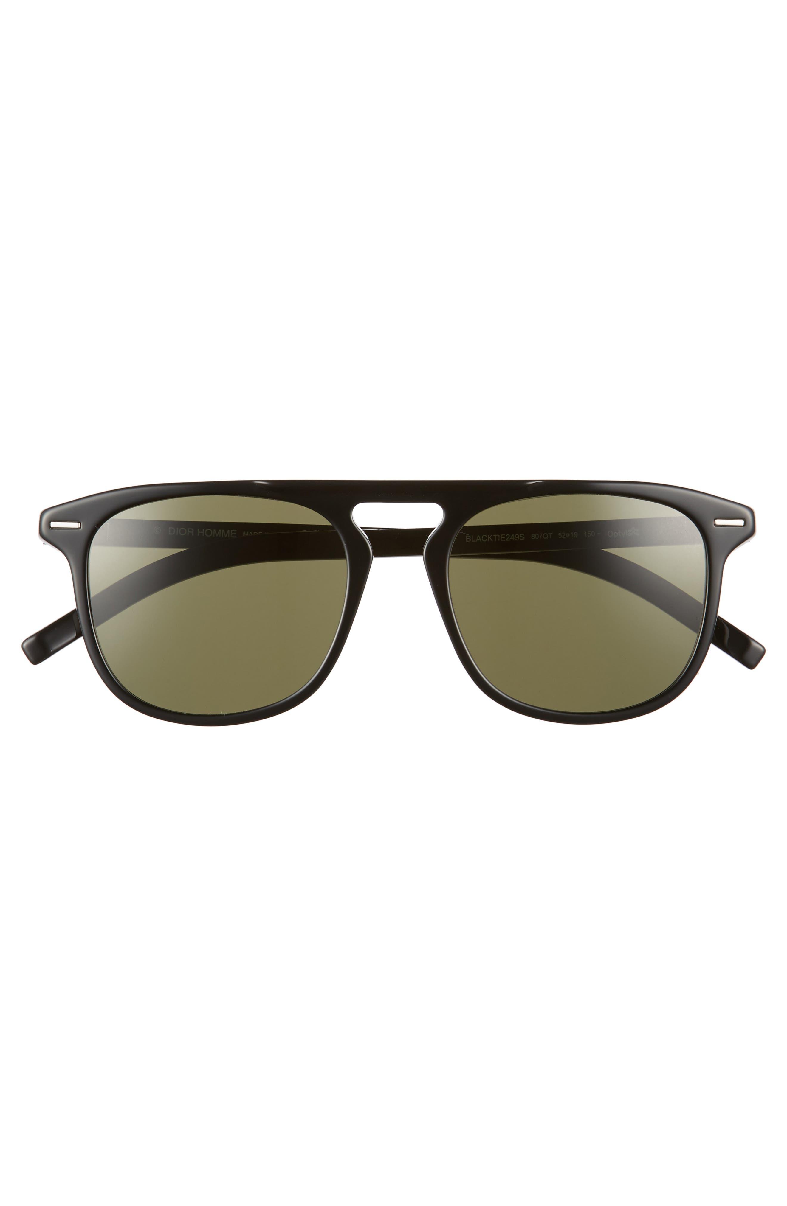 52mm Sunglasses,                             Alternate thumbnail 2, color,                             001