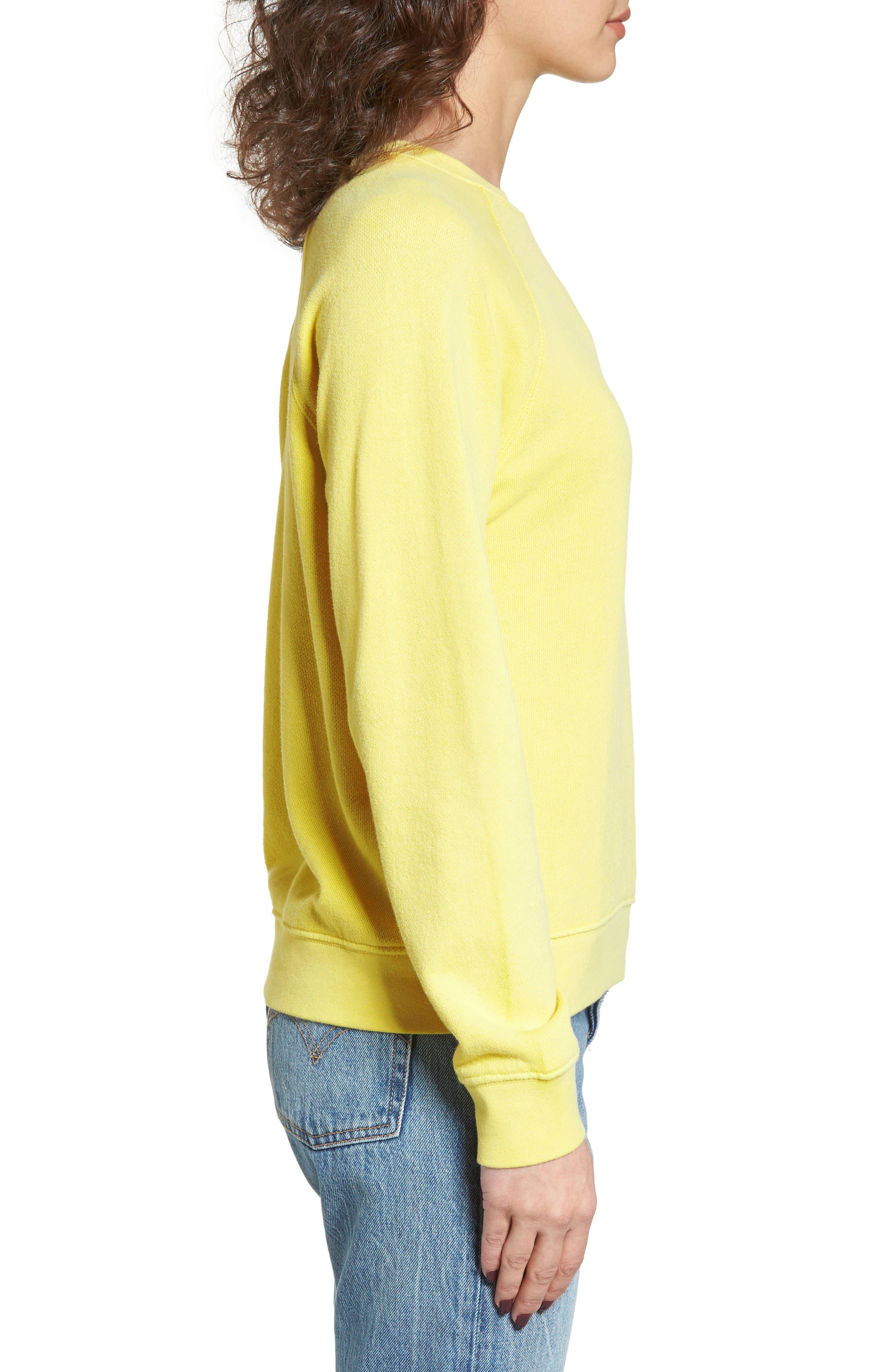 Portola Crew Sweatshirt,                             Alternate thumbnail 3, color,                             750
