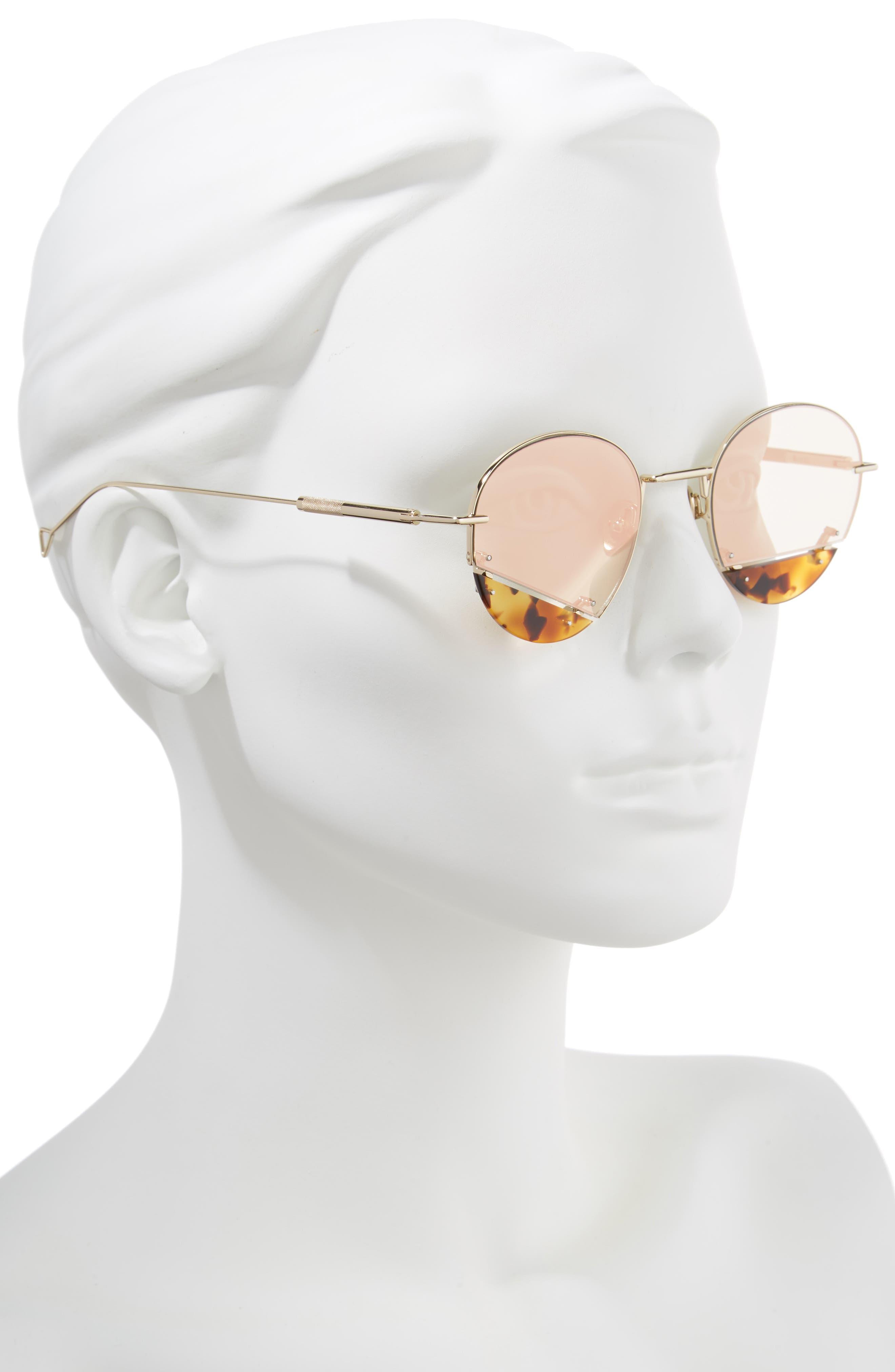 On the Corner 50mm Sunglasses,                             Alternate thumbnail 2, color,                             CHAMPAGNE