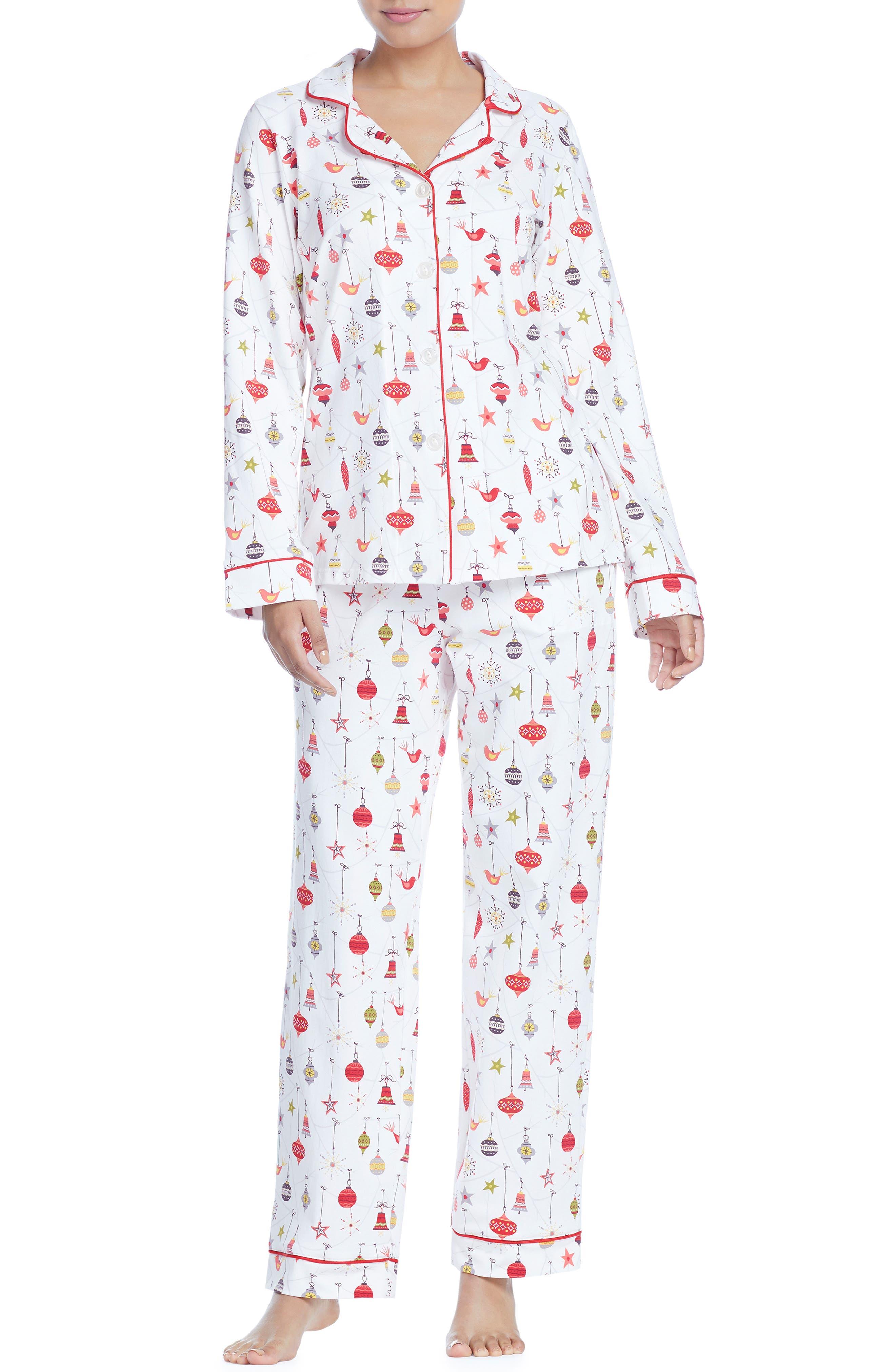 BEDHEAD Classic Print Pajamas in Deck The Halls