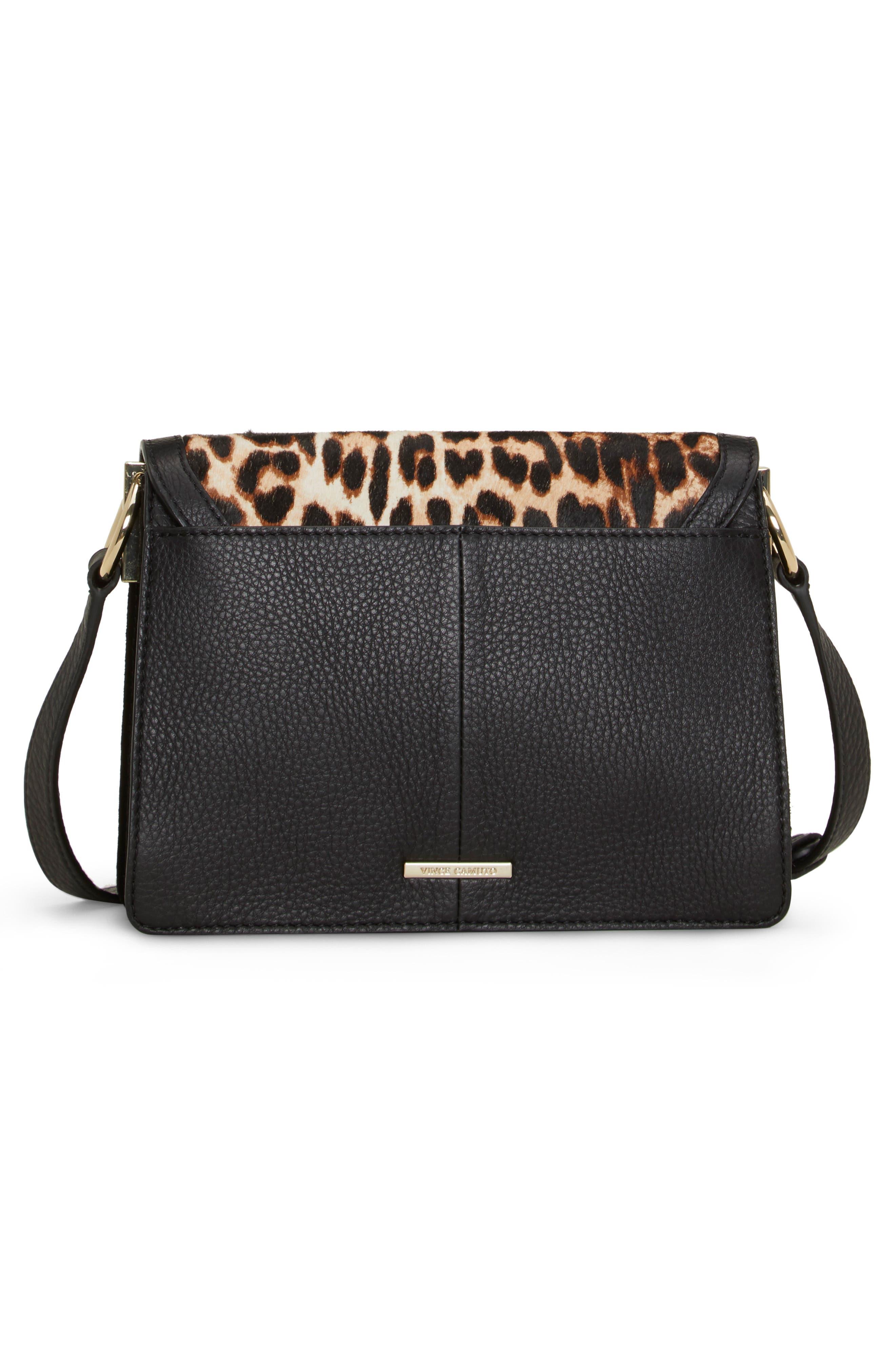 Kirisi Leather & Genuine Calf Hair Crossbody Bag,                             Alternate thumbnail 2, color,                             204