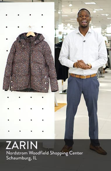Starry Night Quilted Puffer Parka, sales video thumbnail