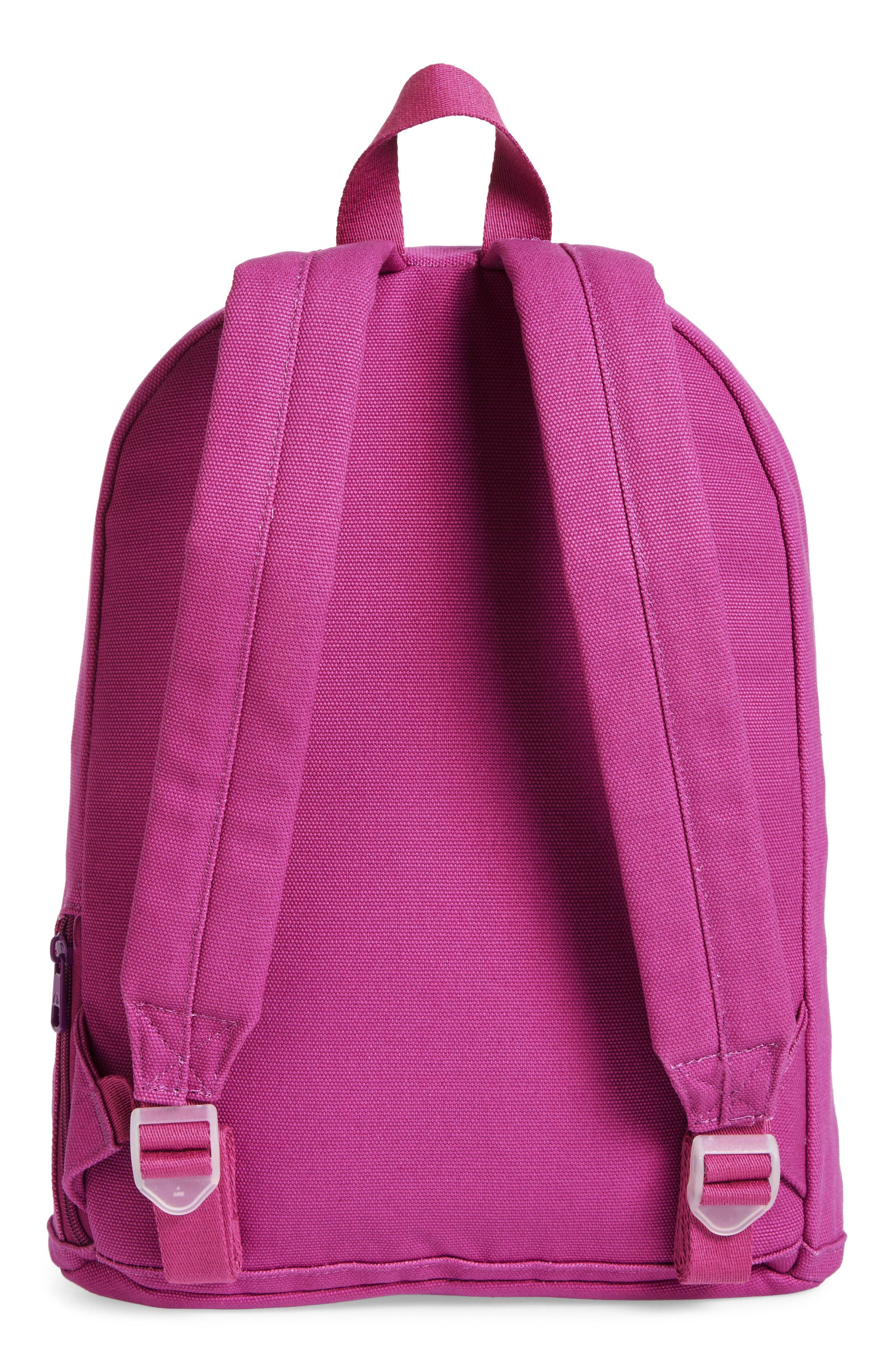 Slim Lorimer Water Resistant Canvas Backpack,                             Alternate thumbnail 3, color,                             501