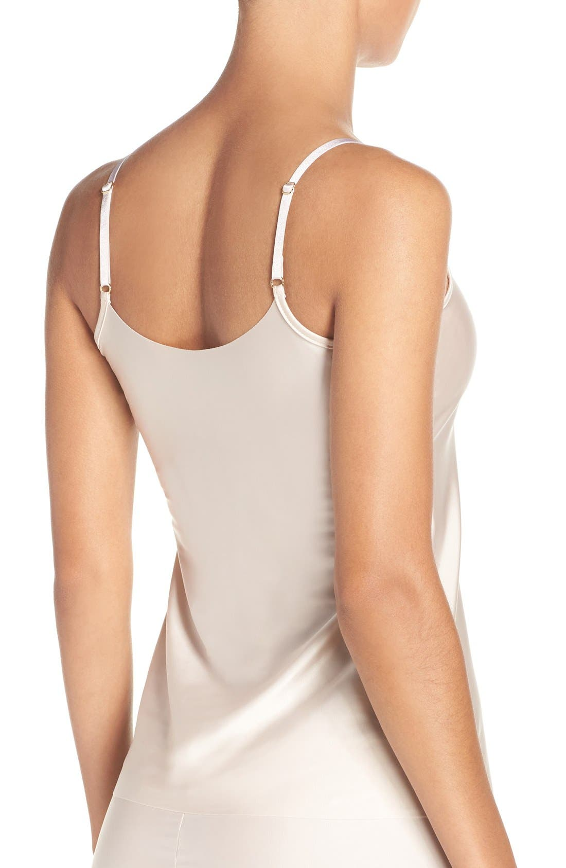 Satin Camisole,                             Alternate thumbnail 4, color,