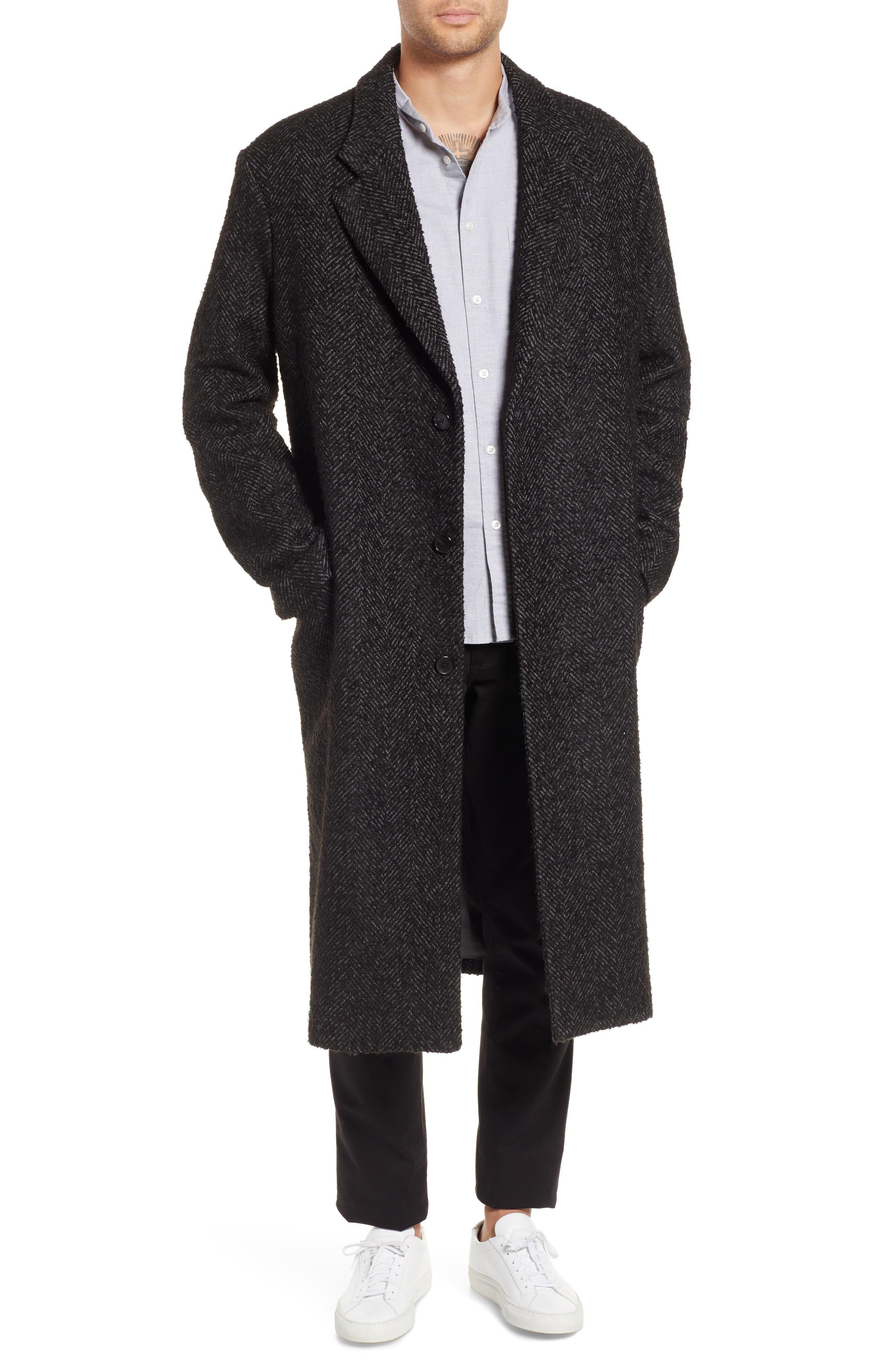 HOPE Area Oversize Coat, Main, color, 010