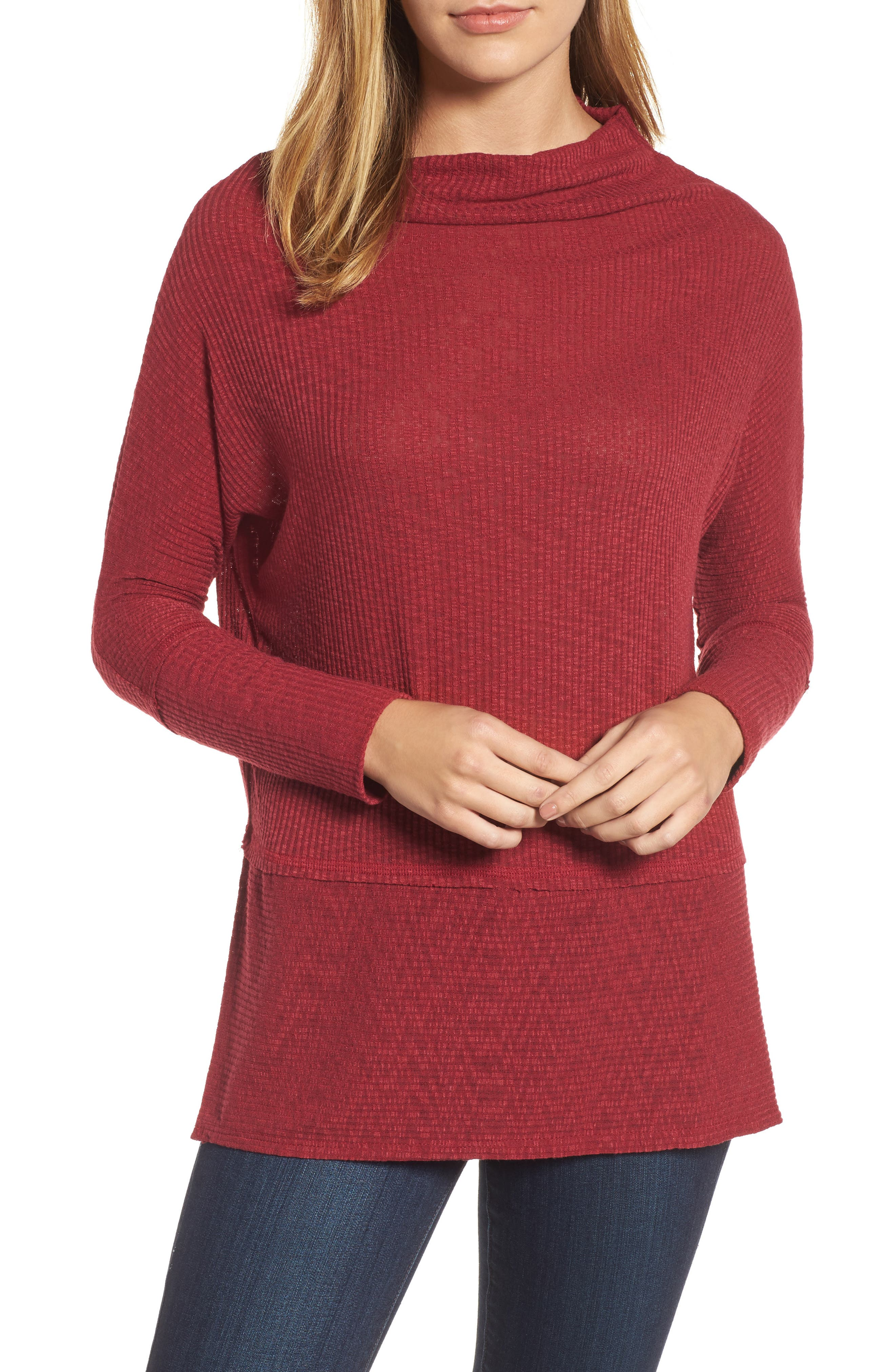 Convertible Wide Neck Top,                             Main thumbnail 5, color,