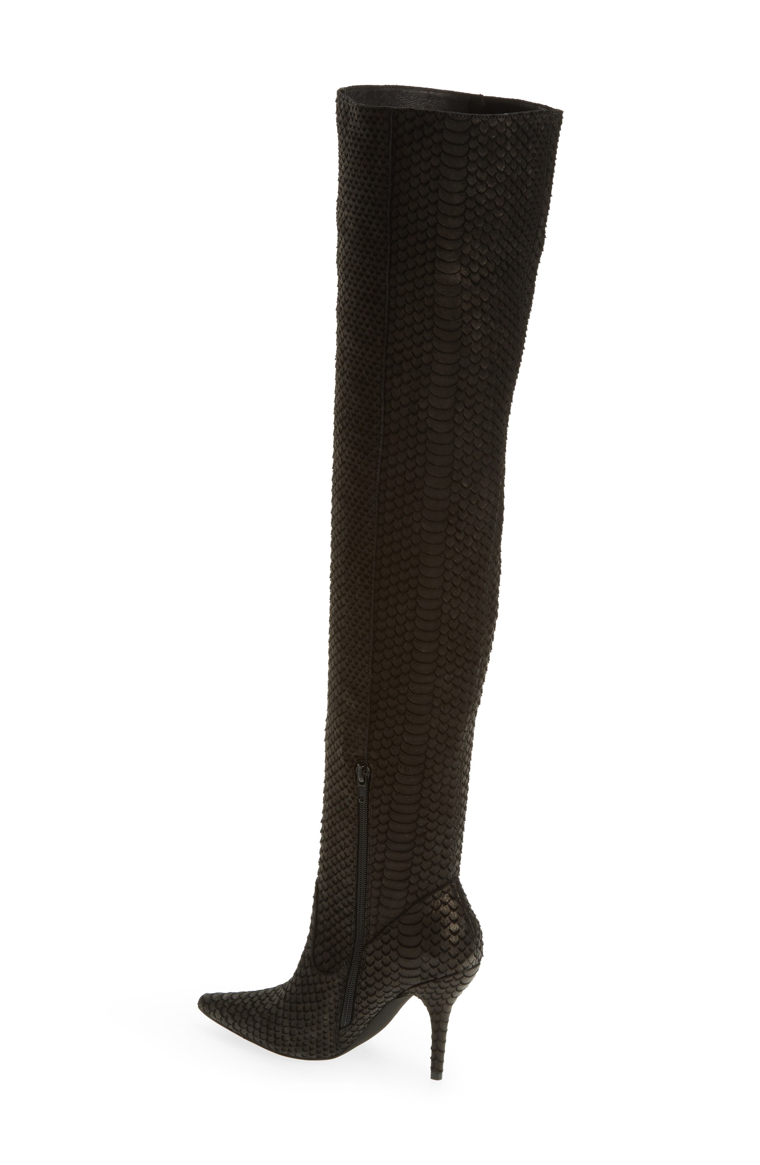 Galactic Thigh High Boot,                             Alternate thumbnail 2, color,                             001