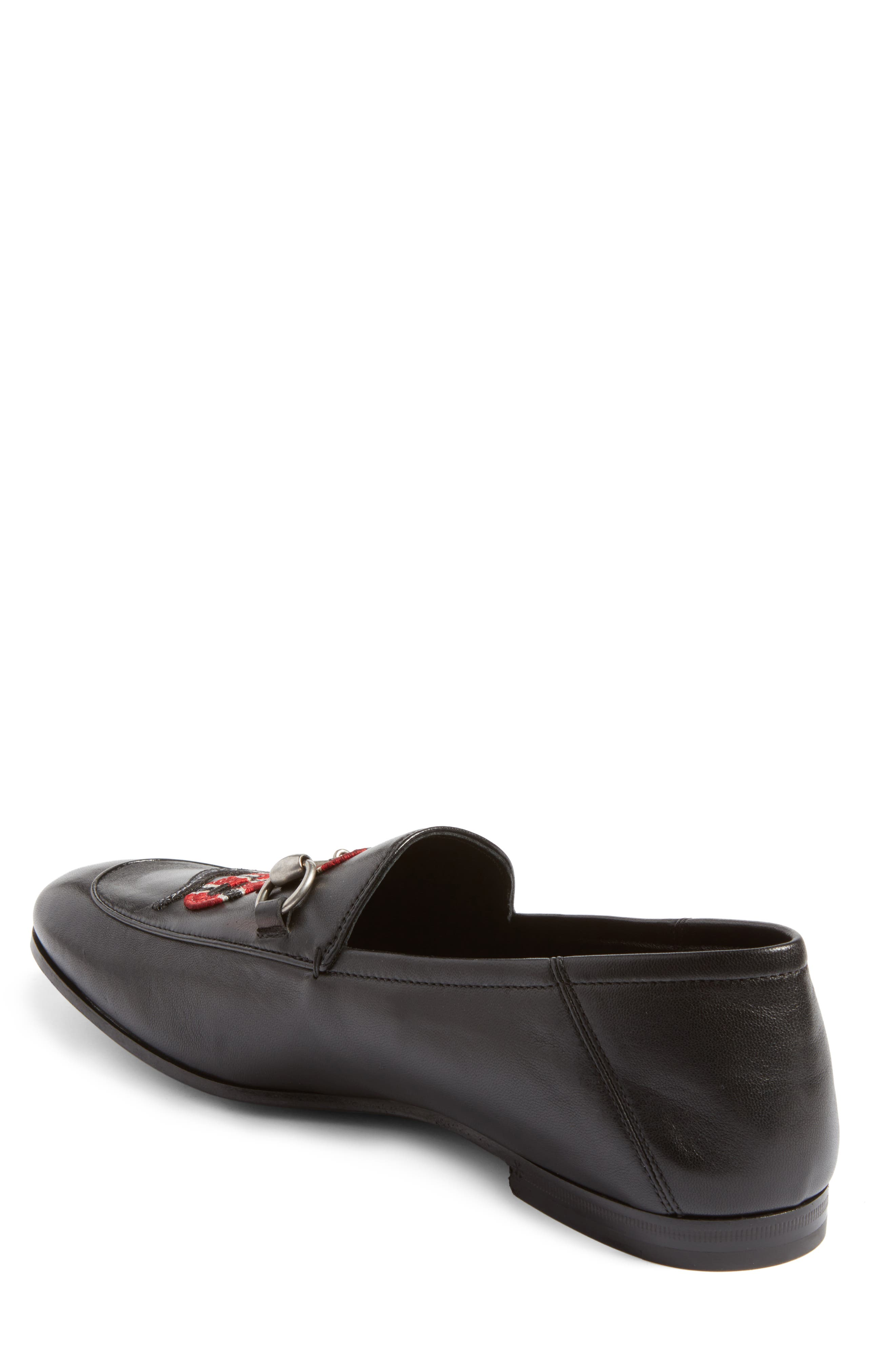 Brixton Leather Loafer,                             Alternate thumbnail 9, color,