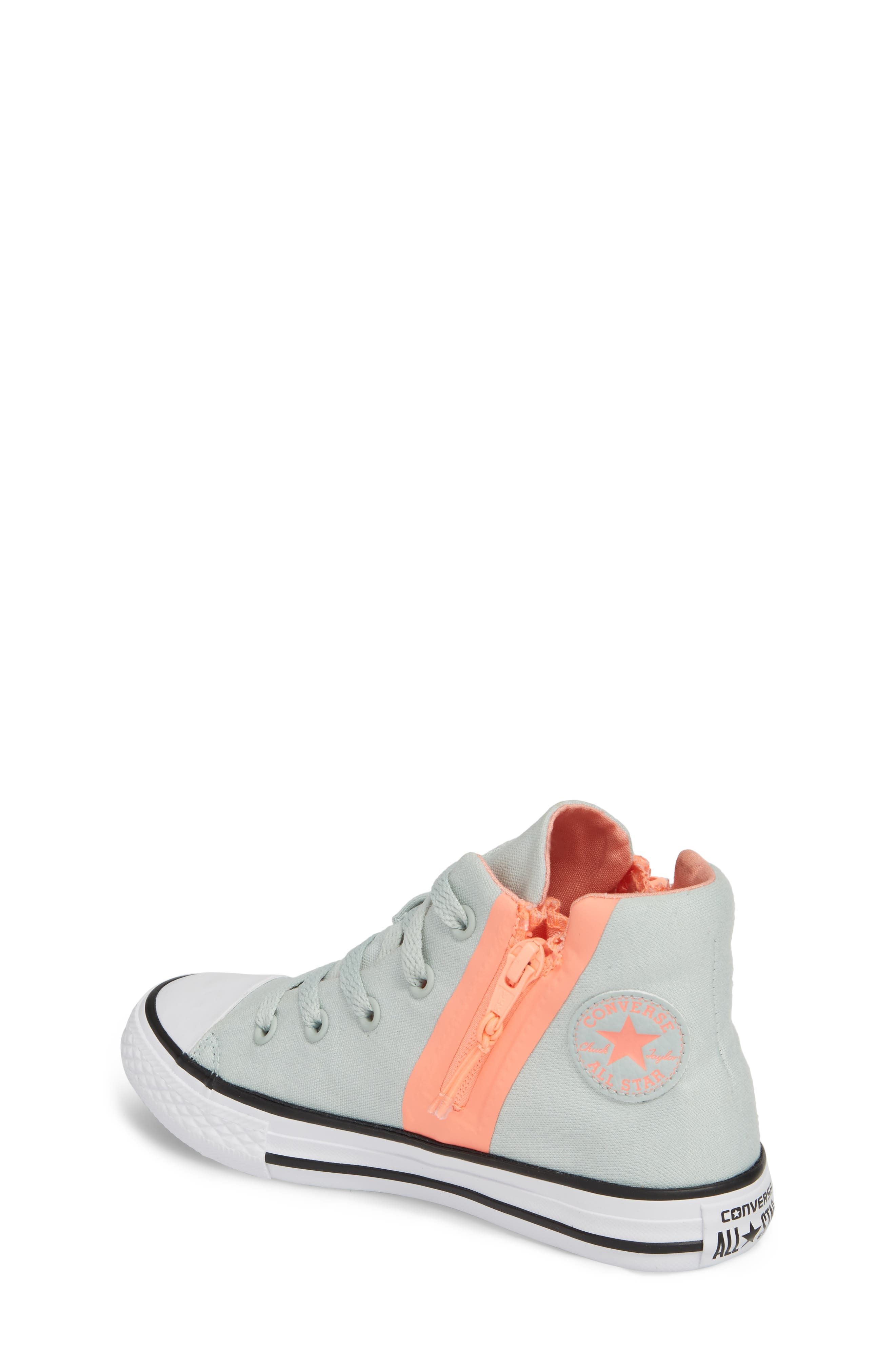 Chuck Taylor<sup>®</sup> All Star<sup>®</sup> Sport Zip High Top Sneaker,                             Alternate thumbnail 2, color,                             416