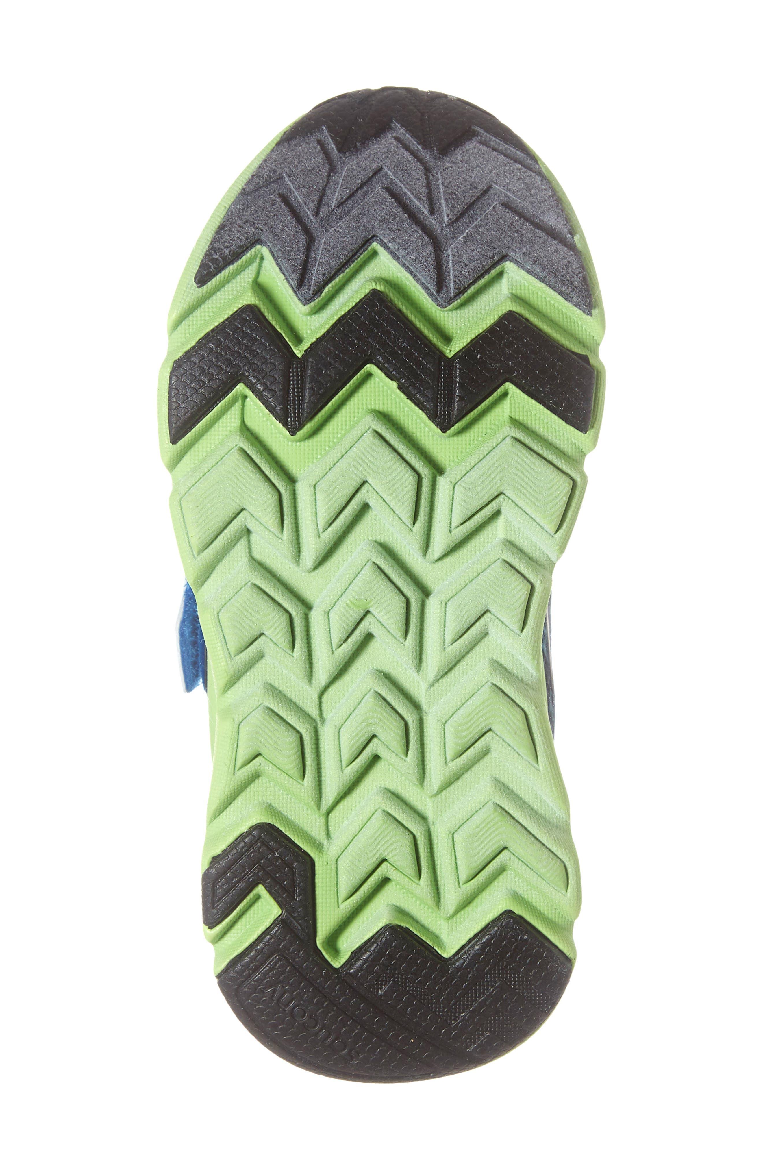 Baby Liteform Sneaker,                             Alternate thumbnail 6, color,                             BLUE/ GREEN