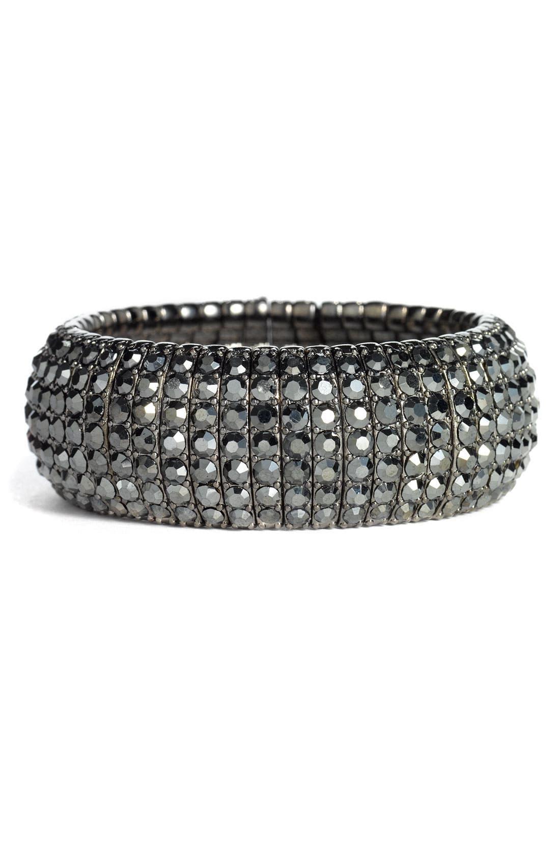 Crystal Stretch Bracelet,                             Main thumbnail 1, color,                             002