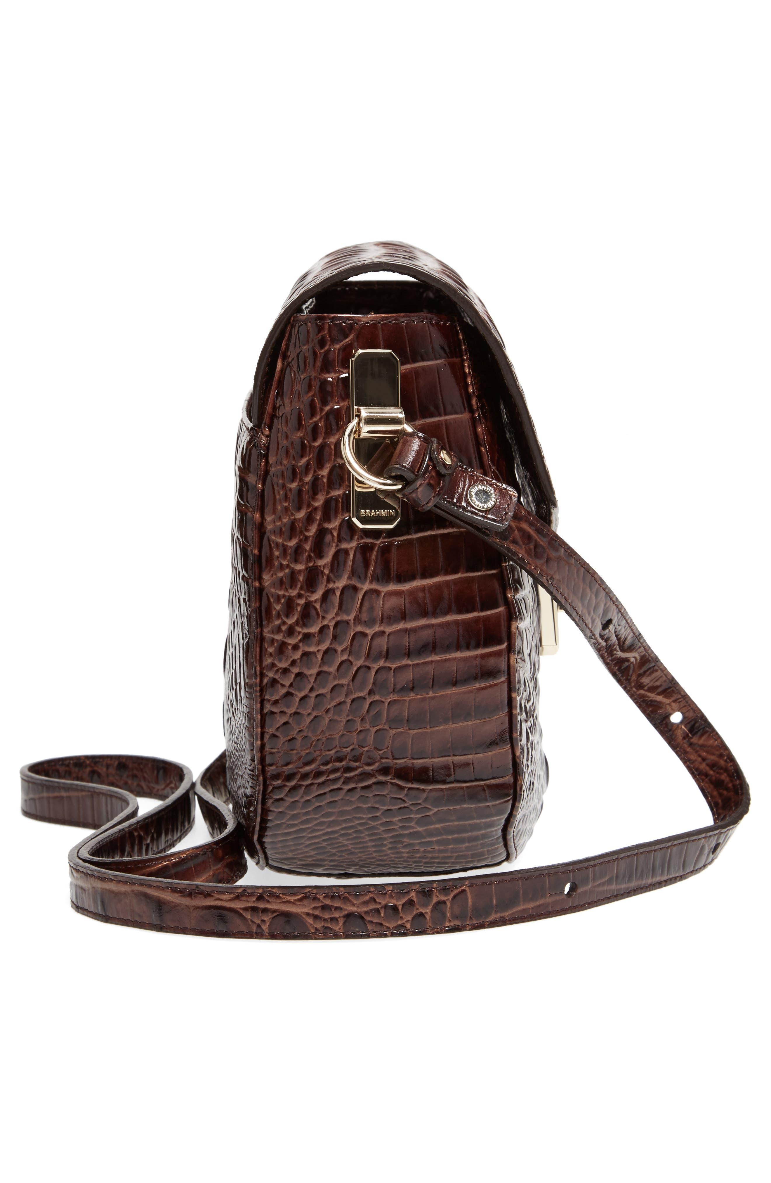 Melbourne - Lizzie Leather Crossbody Bag,                             Alternate thumbnail 23, color,
