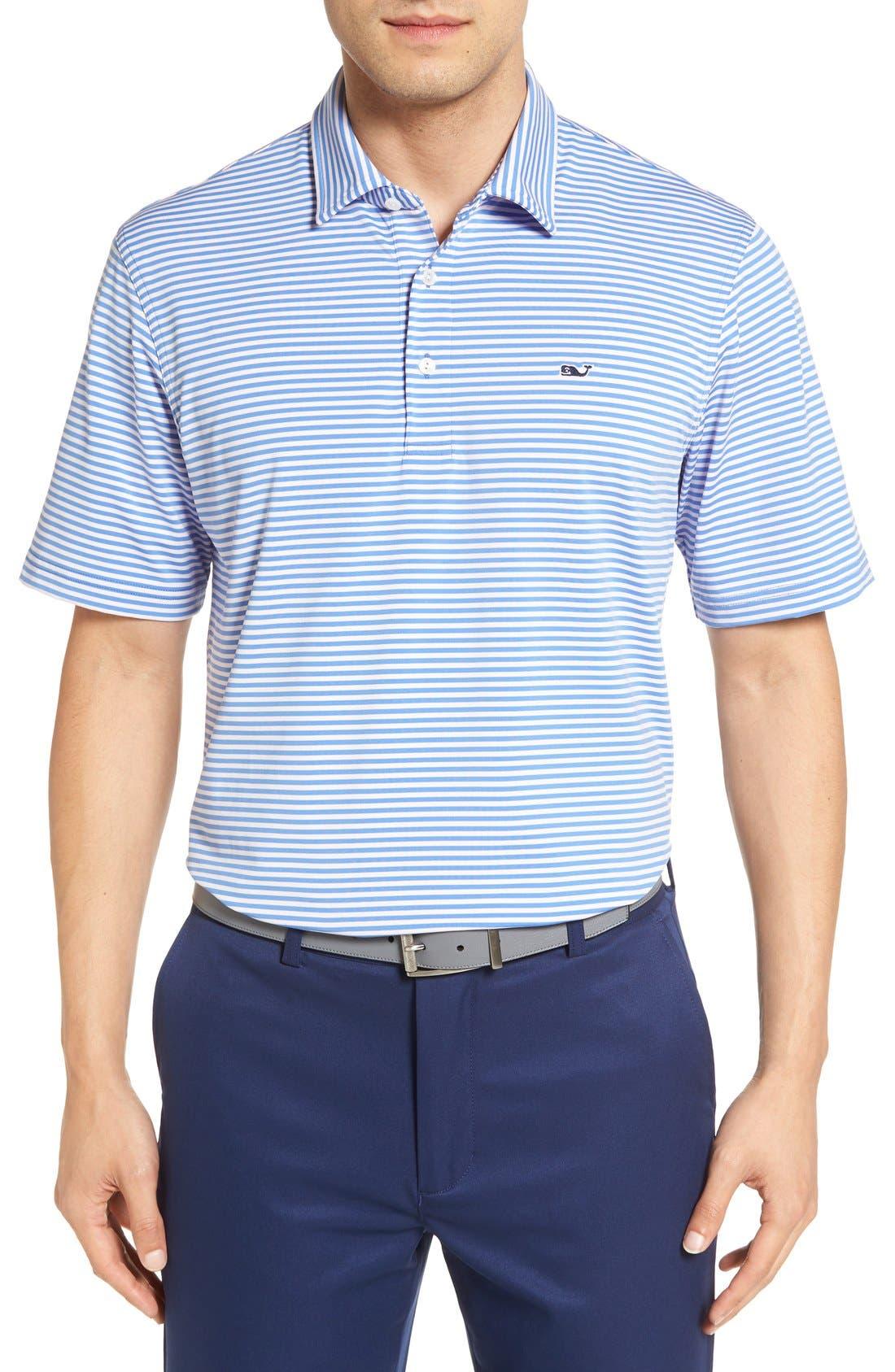Kennedy Stripe Golf Polo,                             Main thumbnail 10, color,