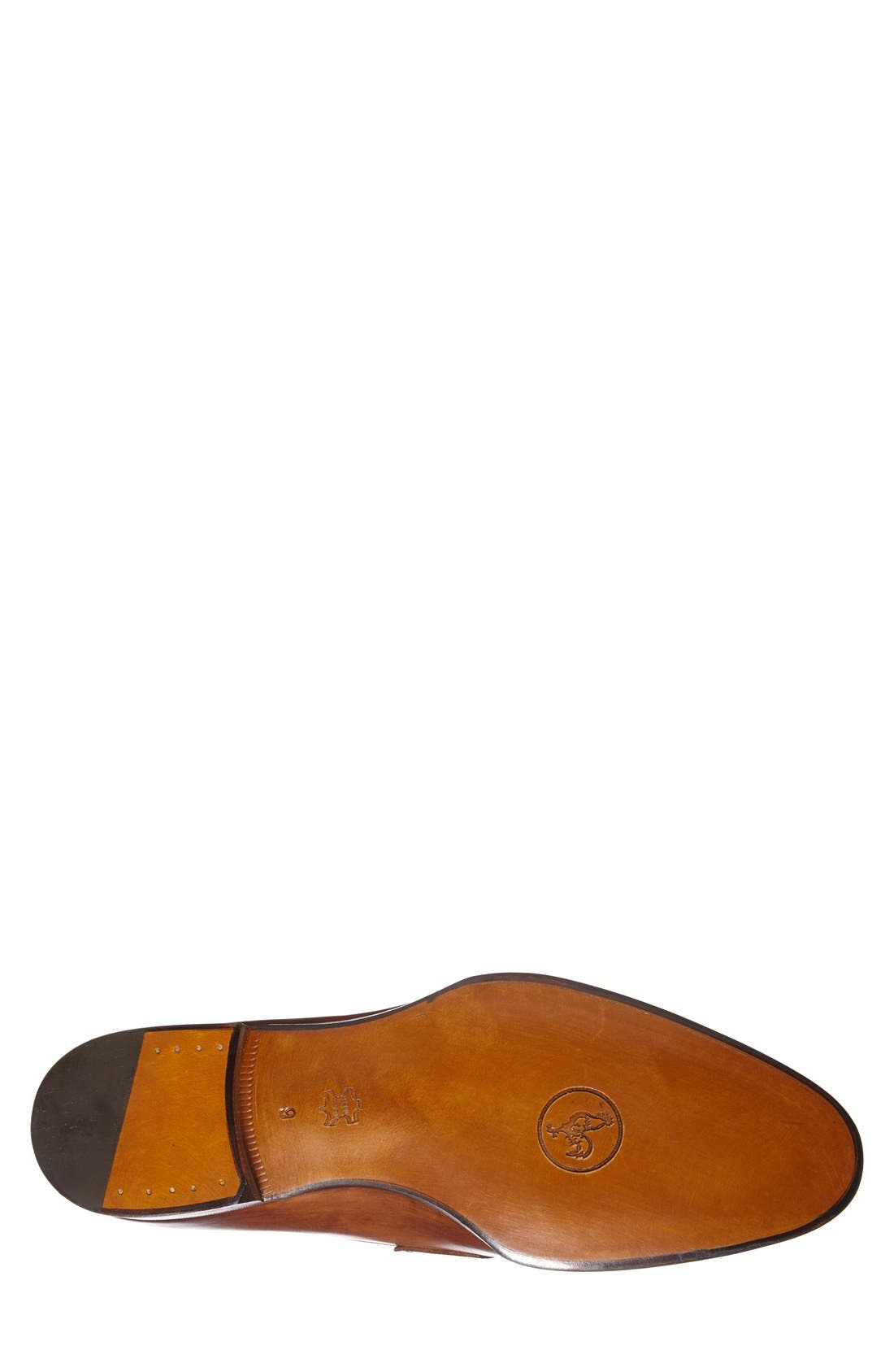 Leather Penny Loafer,                             Alternate thumbnail 18, color,